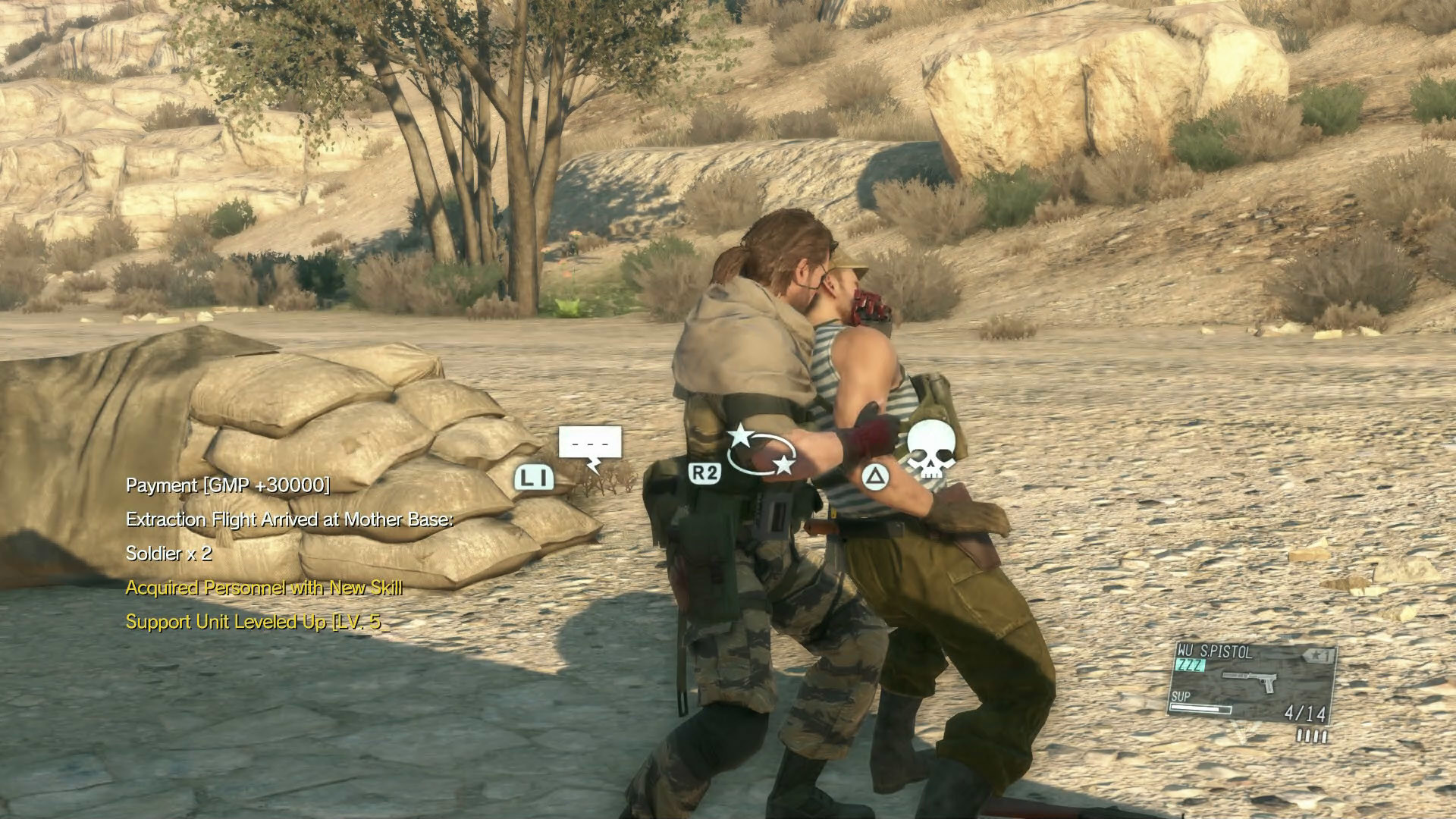 Metal Gear Solid 5: The Phantom Pain – Side Ops 01 Extract Interpreter  (Russian) | VG247
