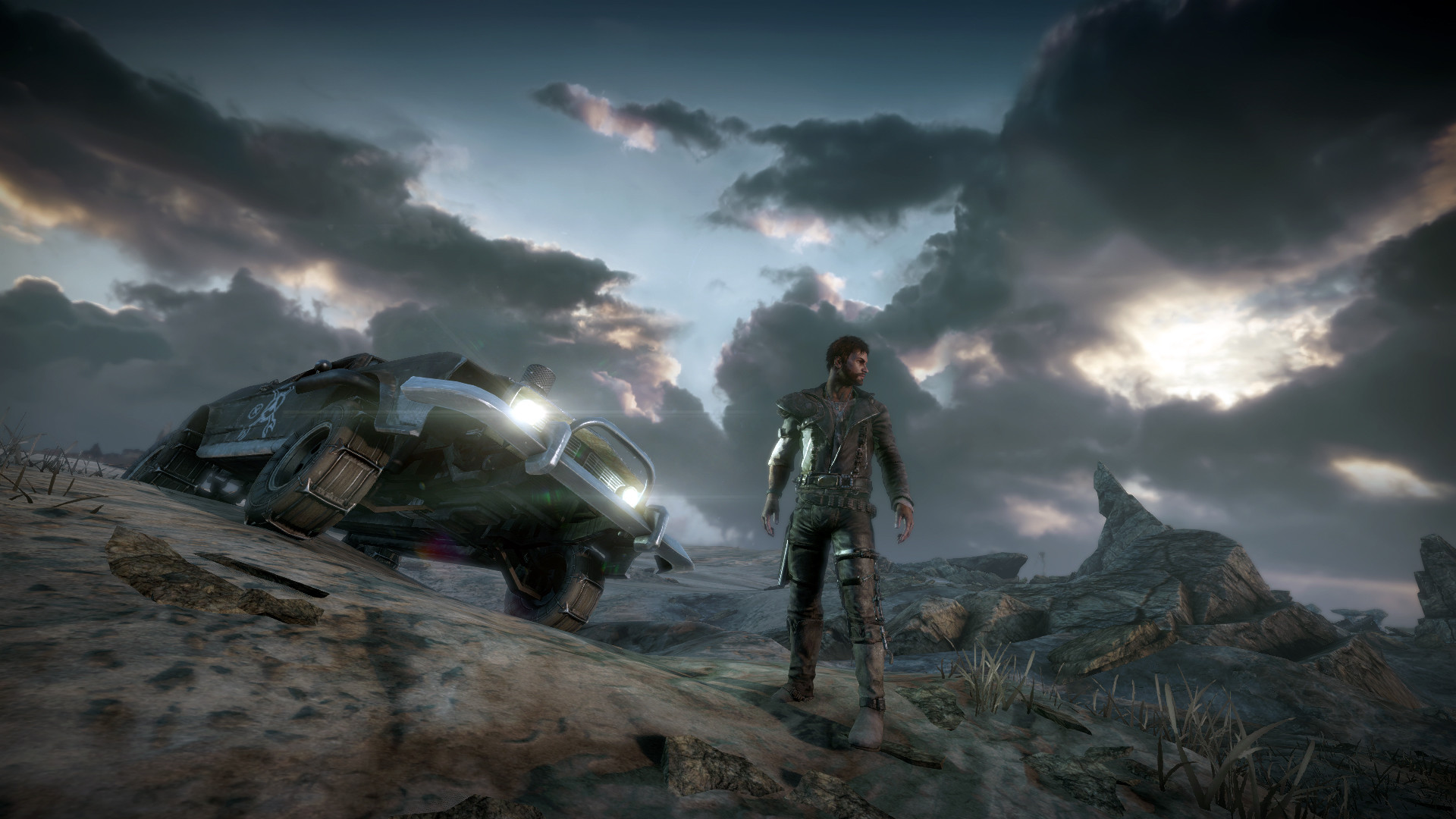 Free Mad Max Game Wallpaper