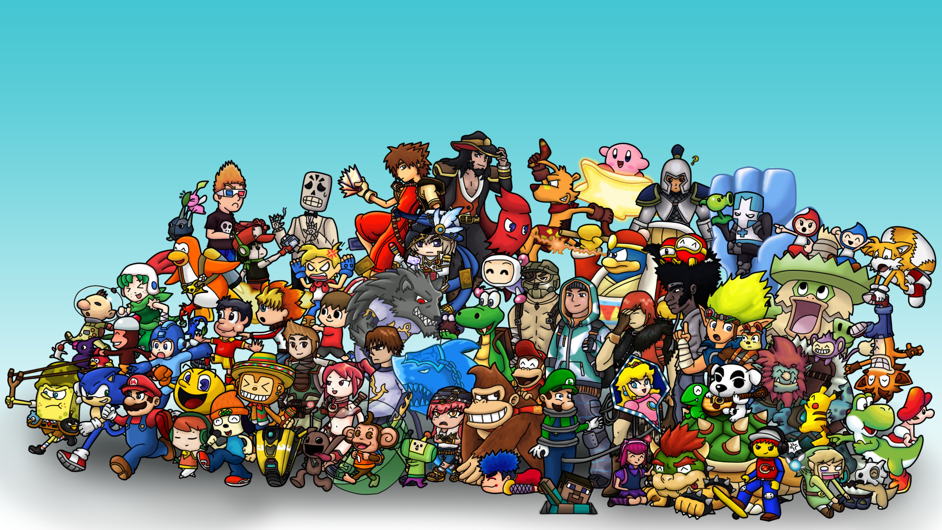 video game wallpaper great name by obubblesmansion fan art wallpaper .