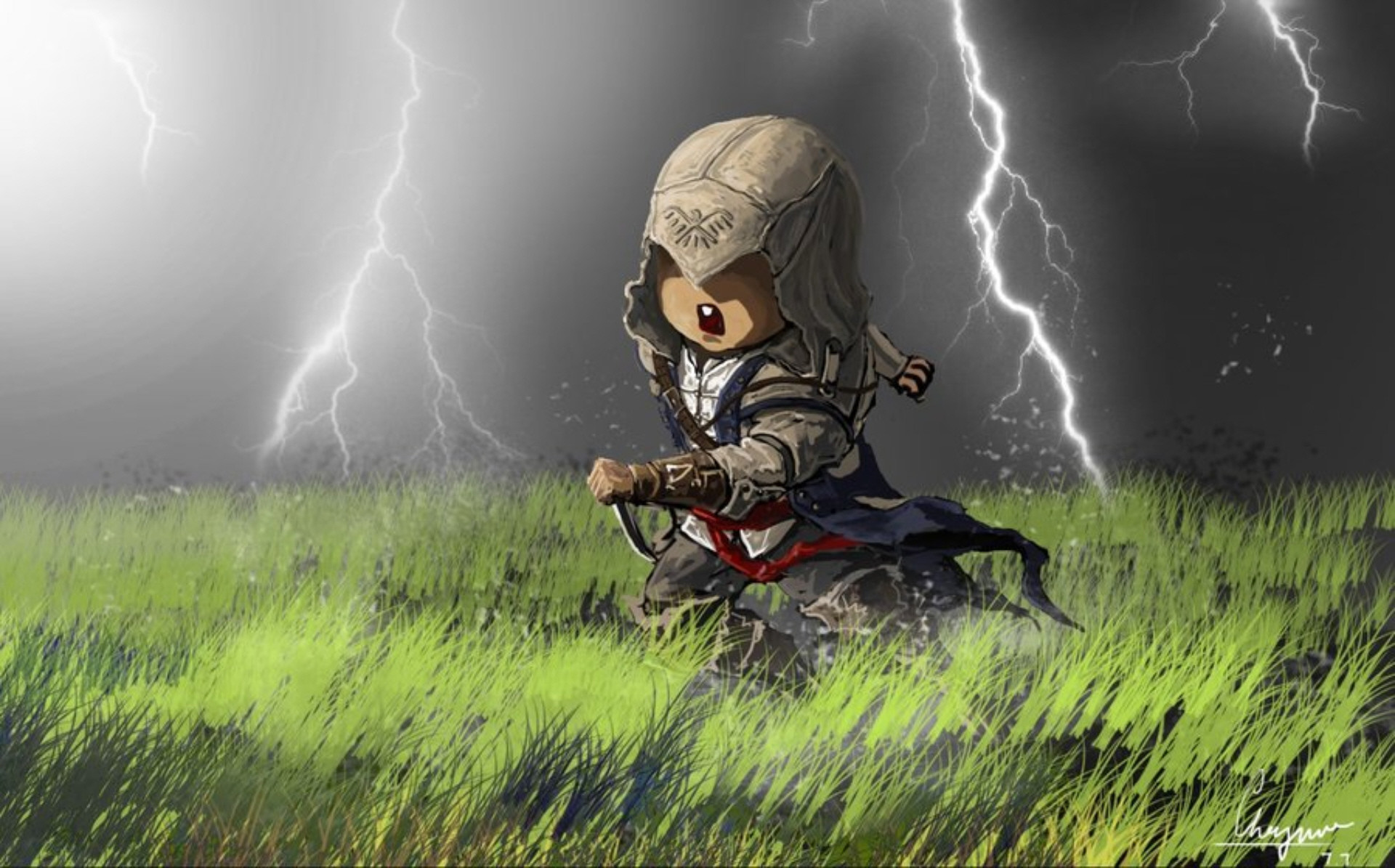 Assassin's Creed Kid Wallpaper. Sooo awesome!