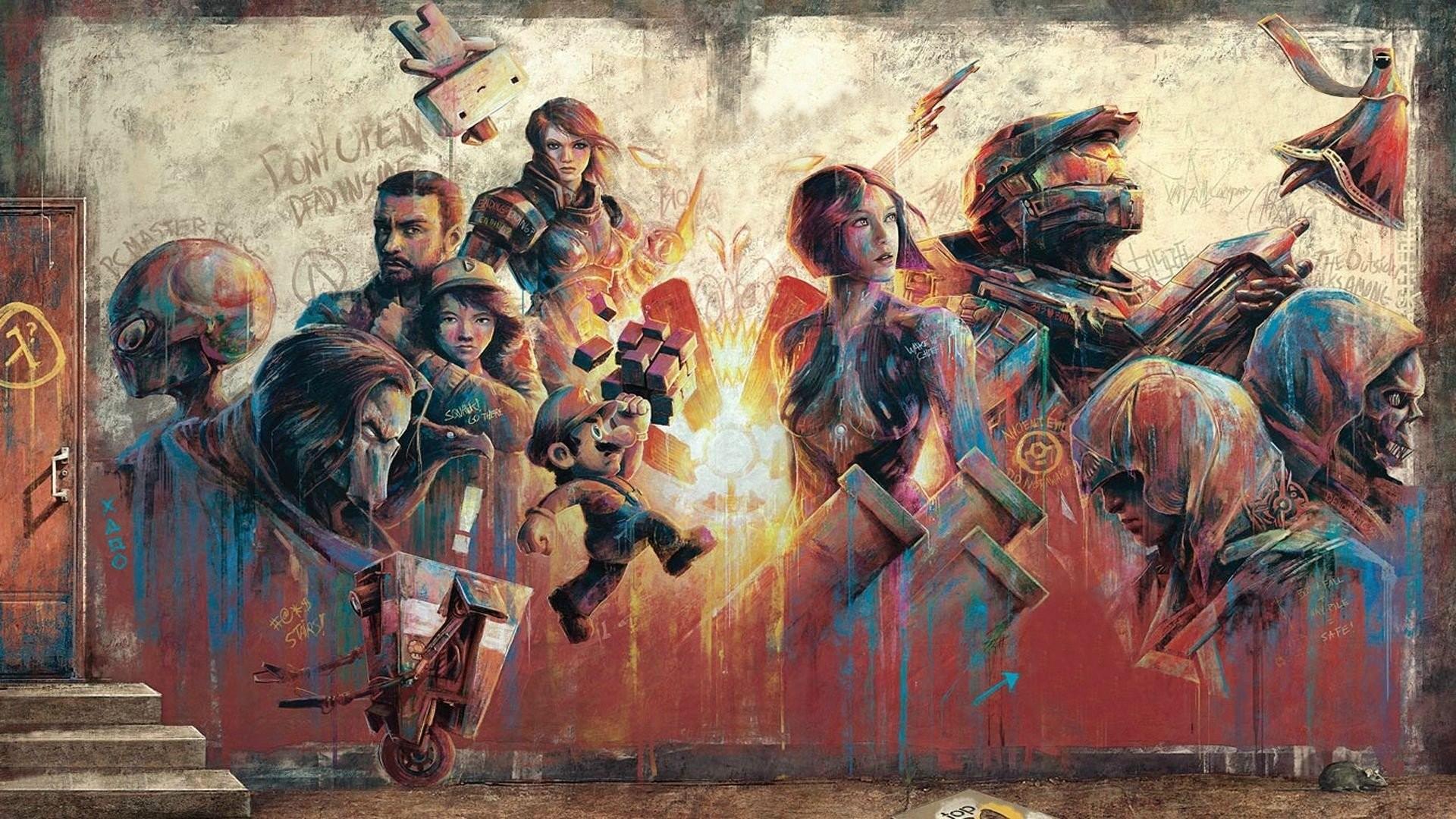 video game mashup wallpapers – photo #27. Assassins Creed Borderlands  Borderlands 2 Claptrap Co