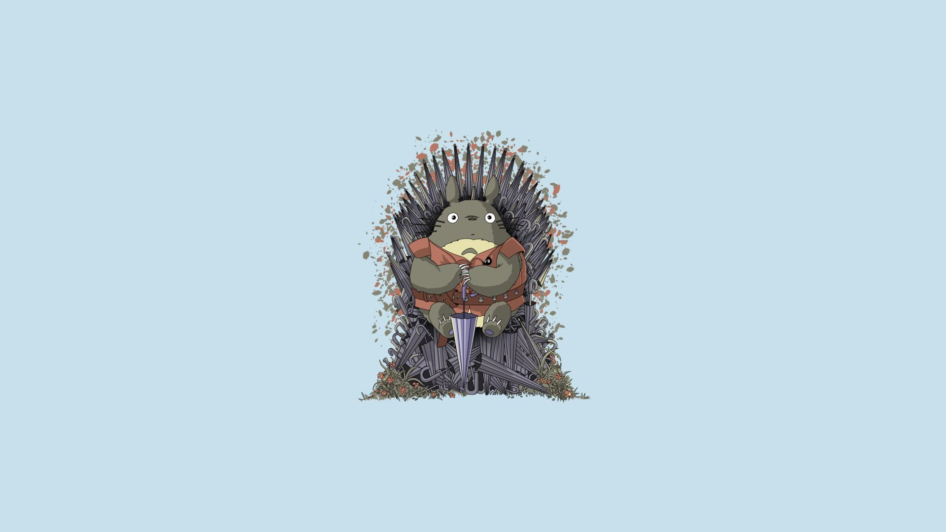 Game Of Thrones and Totoro Mashup Wallpaper [1920 x 1080] …