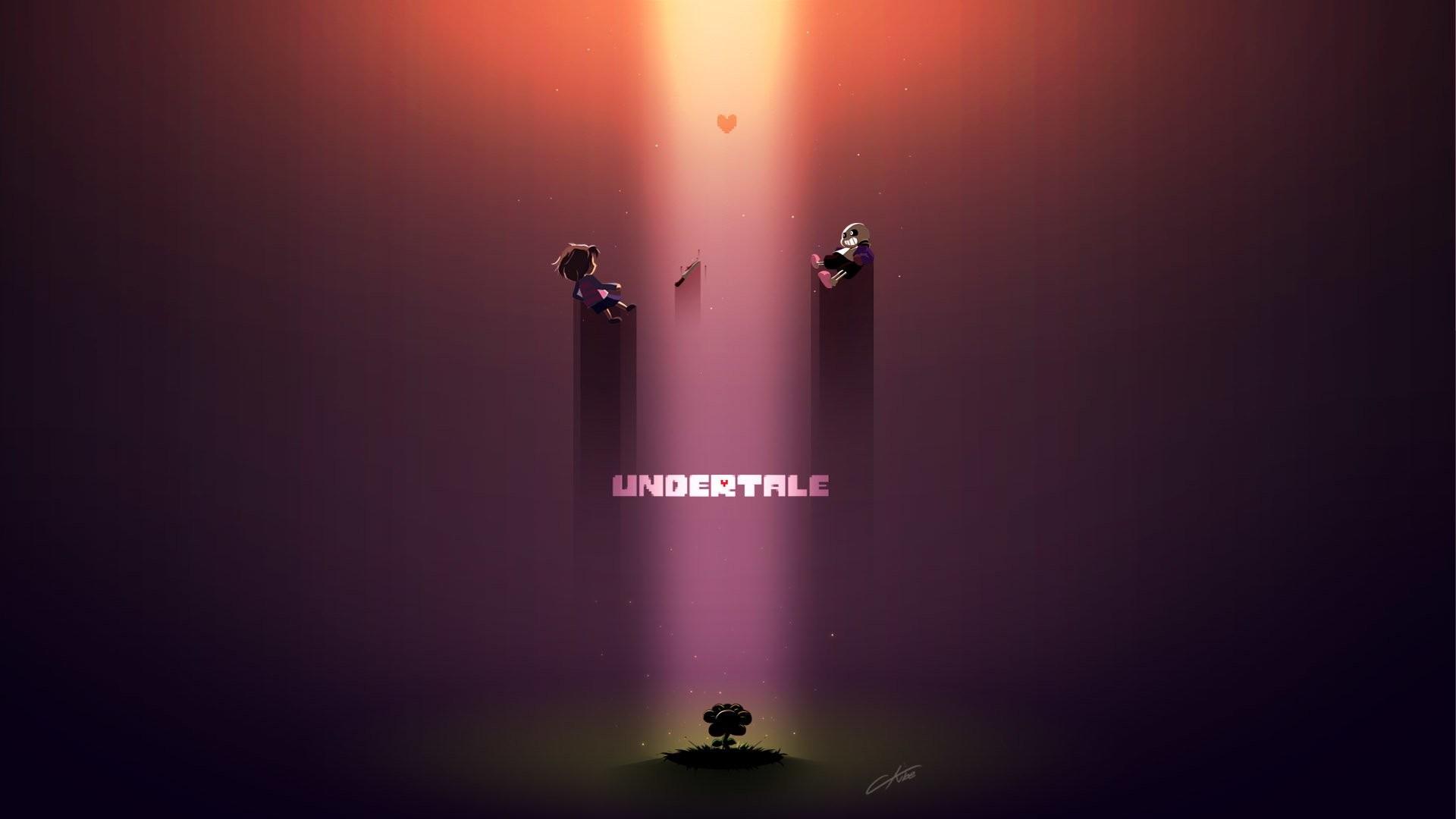 Video Game – Undertale Frisk (Undertale) Sans (Undertale) Flowey (Undertale)