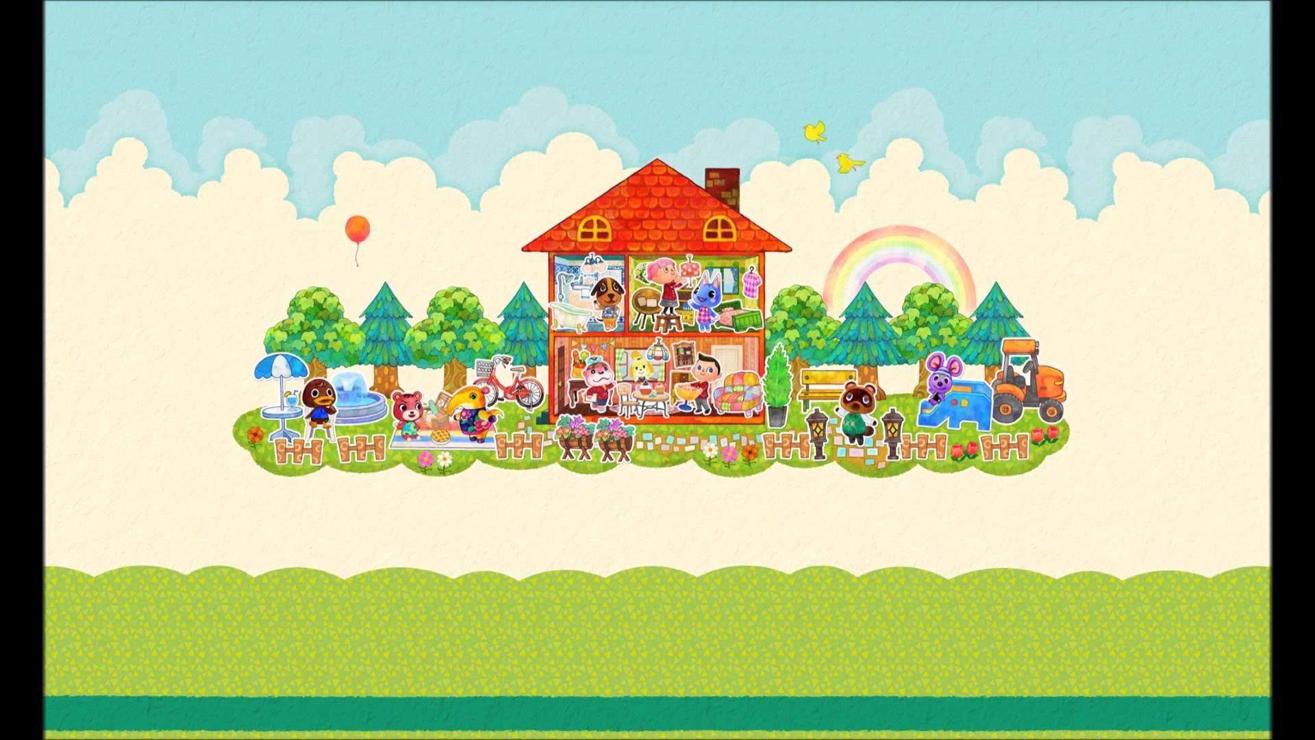 Animal Crossing Happy Home Designer; Sample Music