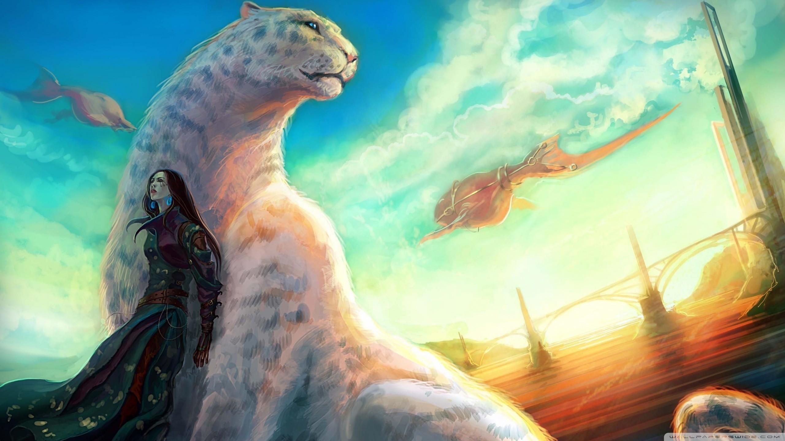 Desktop backgrounds · Fantasy Animal