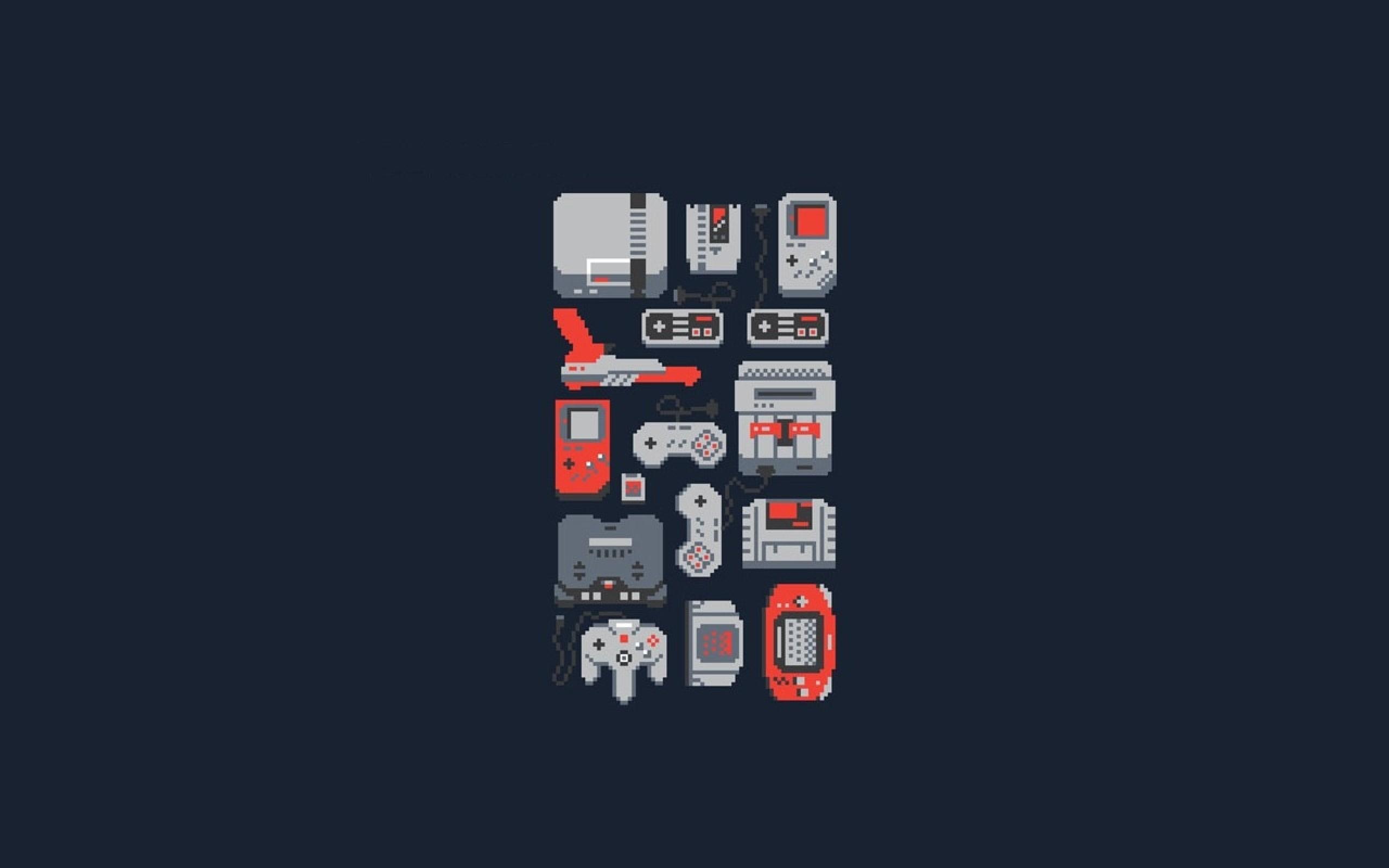 8 Bit Hd Video Game Wallpapers