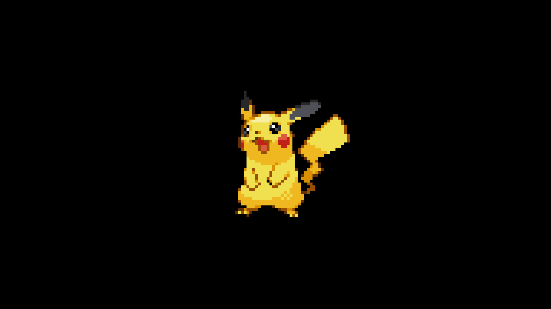 Pokemon 8 Bit Minimalism