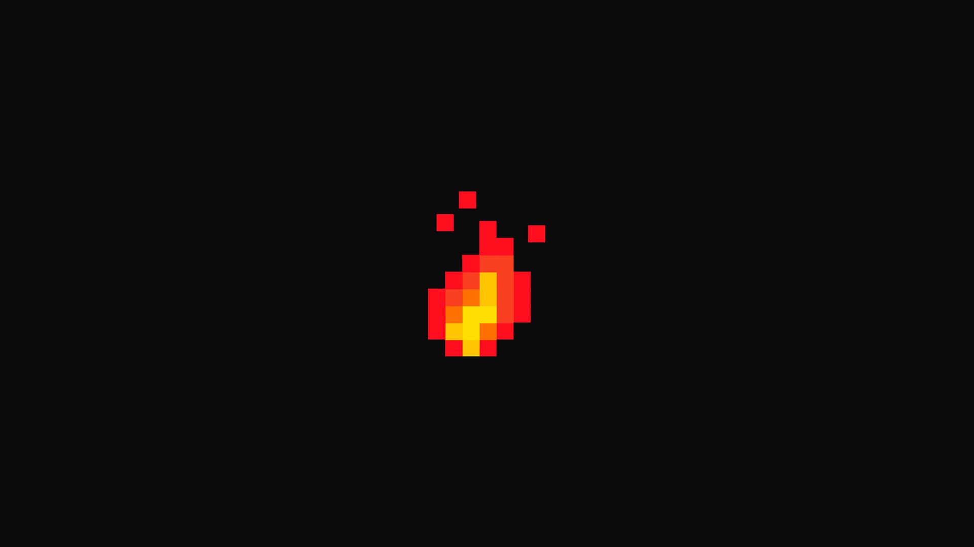 8 Bit Digital Fire