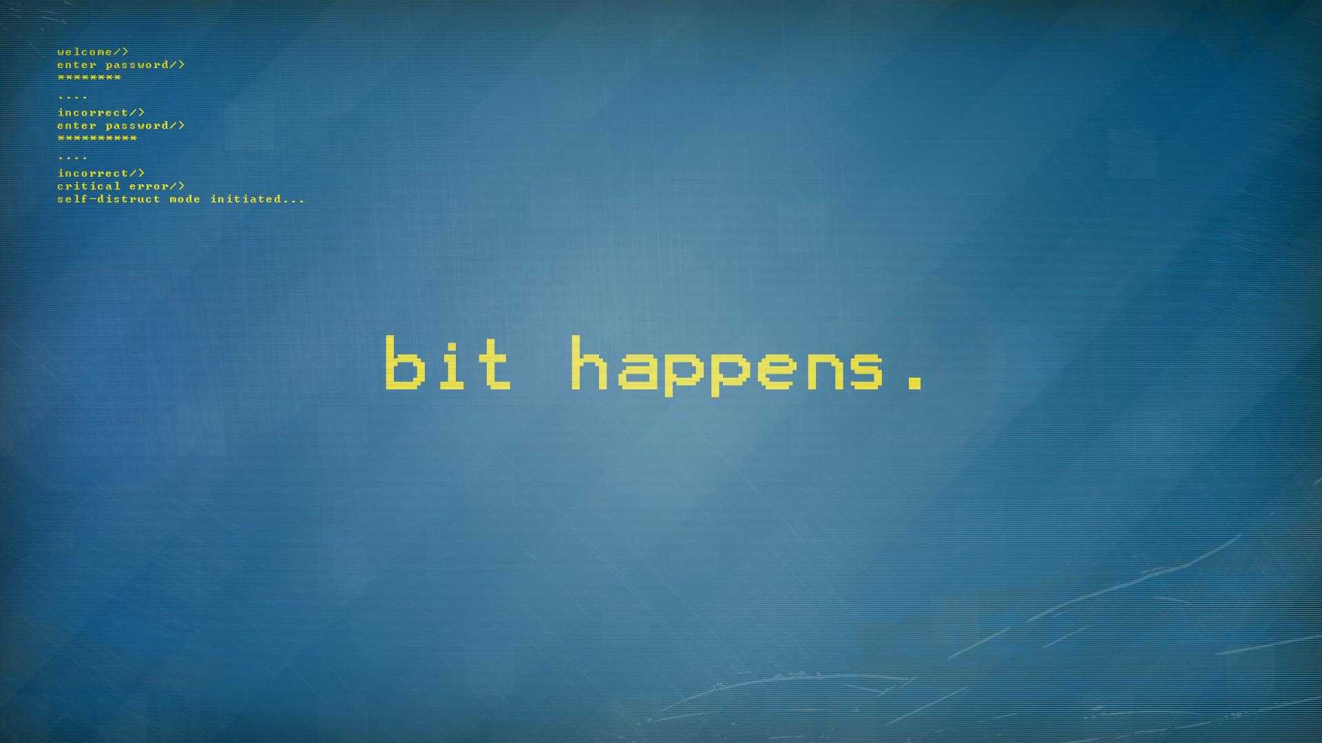 8-bit Blue Pixels