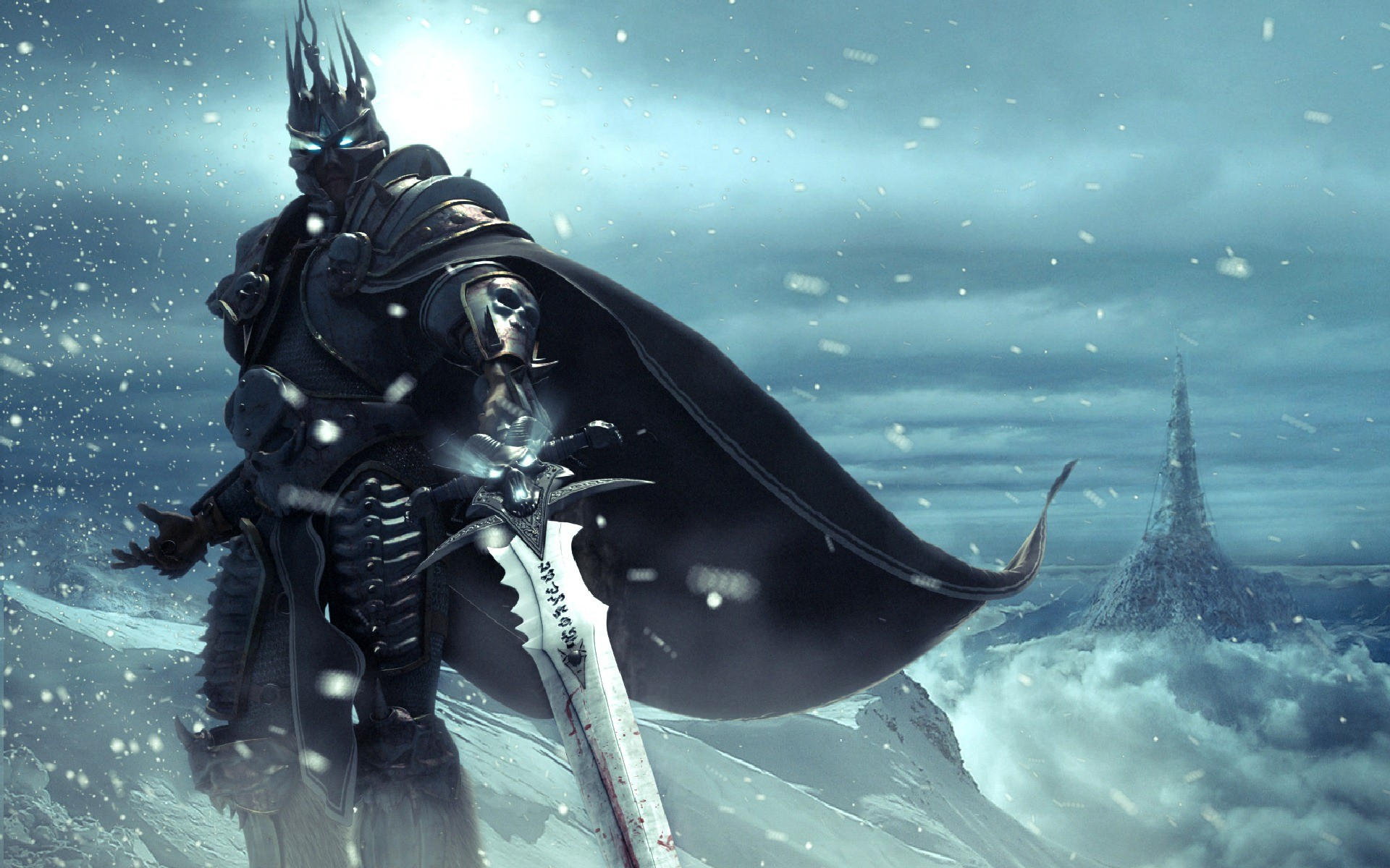 Of Warcraft Wallpaper Death Knight World of warcraft frost knight .
