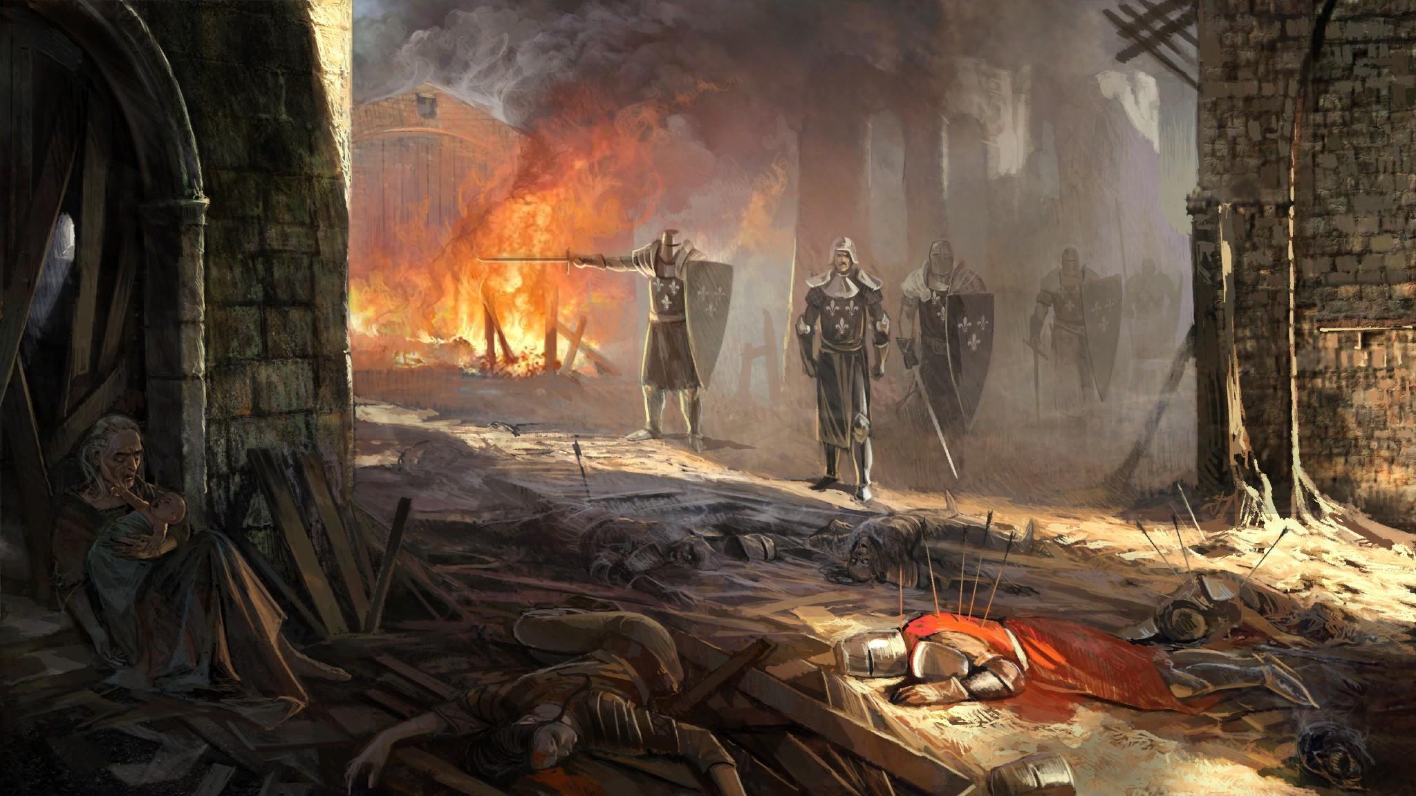 Fantasy battle death knight armor weapons sword wallpaper | |  118280 | WallpaperUP