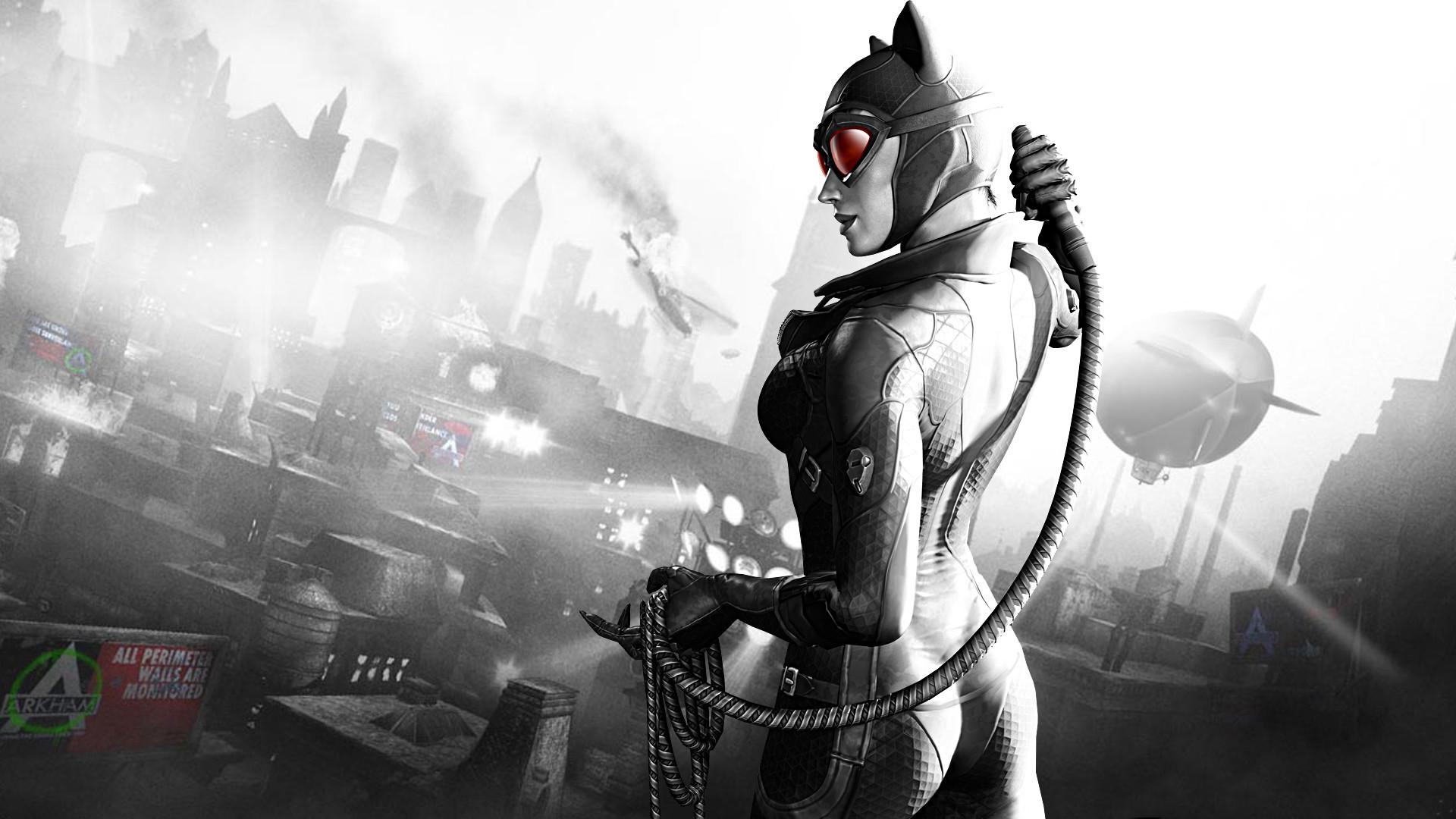 Catwomen Arkham City – 1080p HD Wallpaper for Desktop