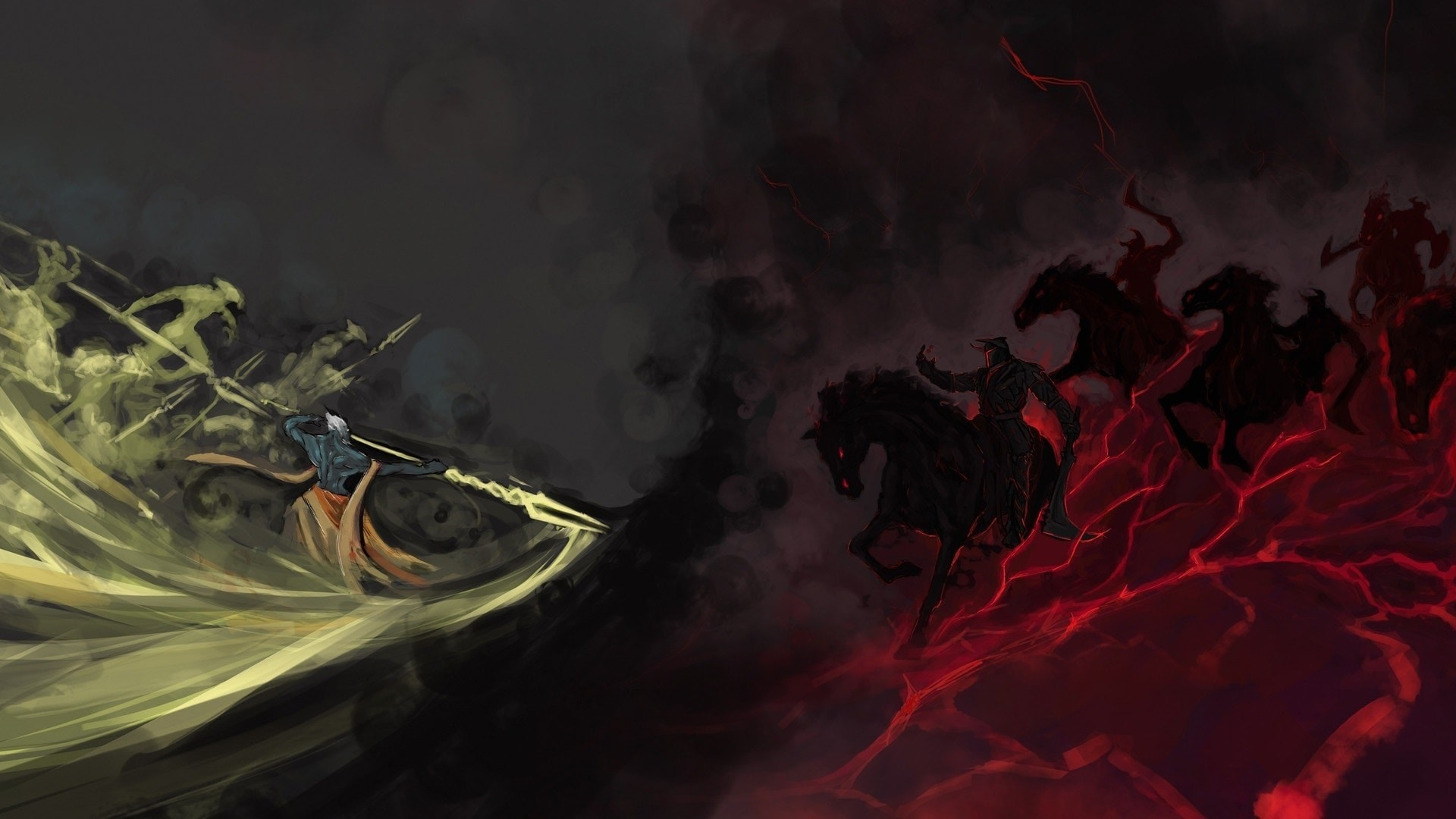 … Dota2 : Chaos Knight full hd wallpapers