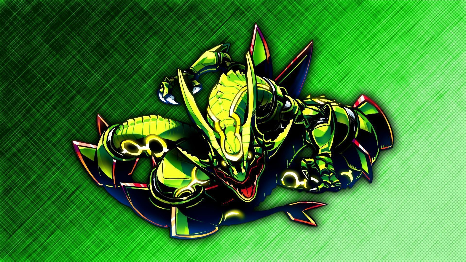 Wallpapers For > Rayquaza Wallpaper