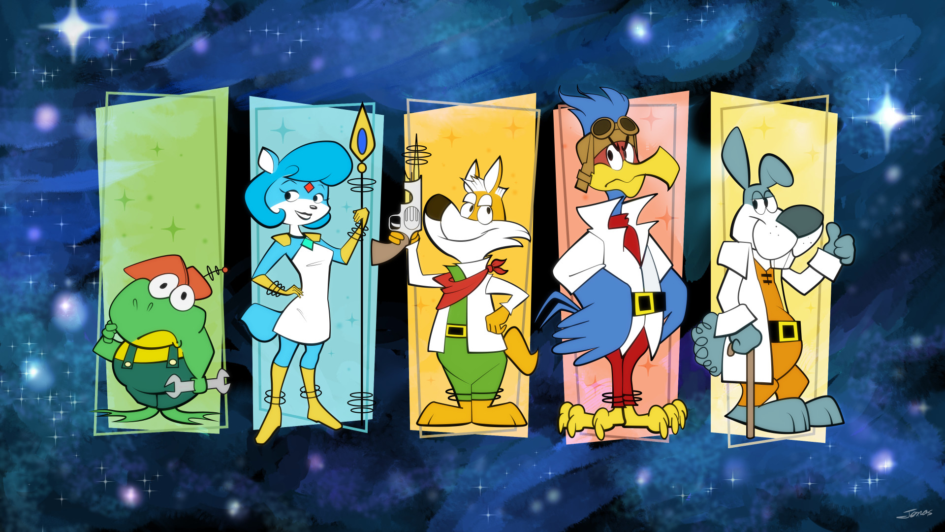 Star Fox Wallpapers
