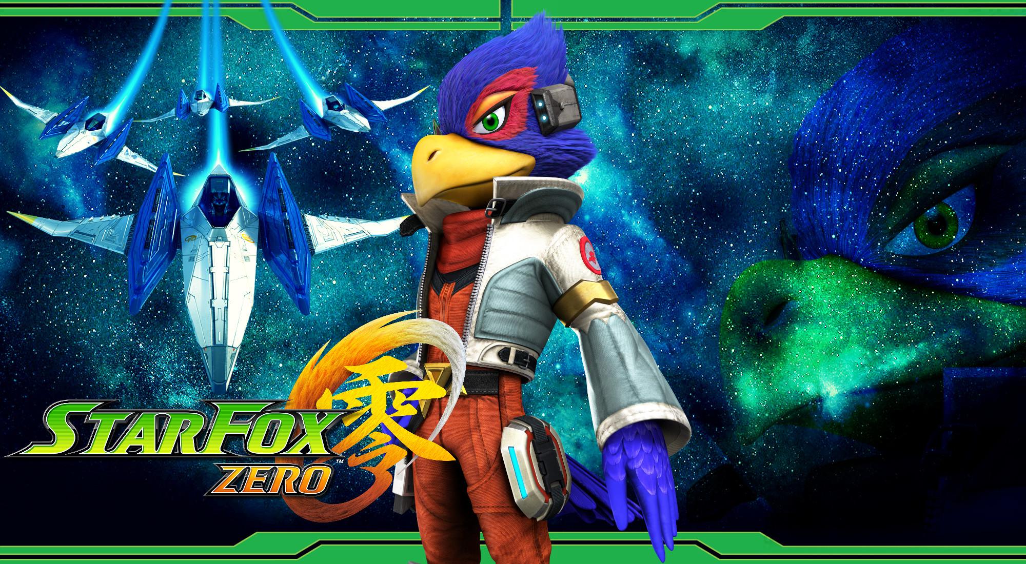 … Star Fox Zero – Falco Wallpaper by DaKidGaming