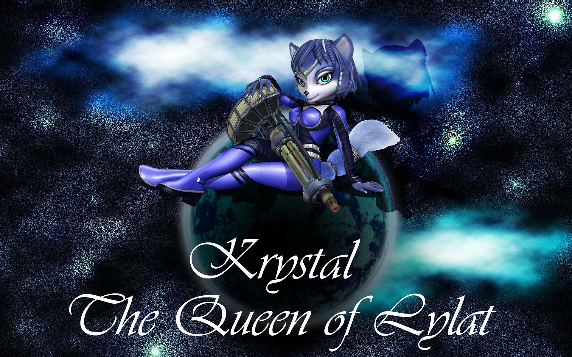 Krystal Wallpaper   Star Fox: Assault   Pinterest   Wallpapers