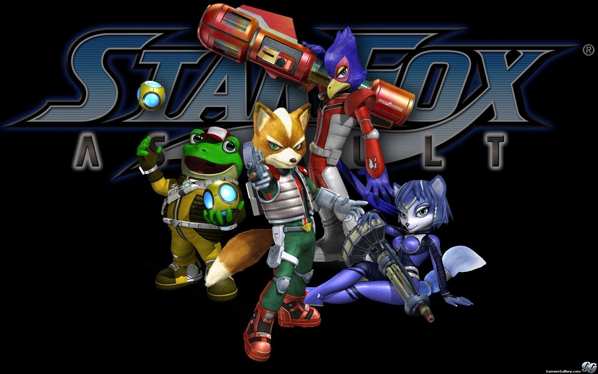 Gamers Gallery – Star Fox: Assault (Wallpaper): https://www