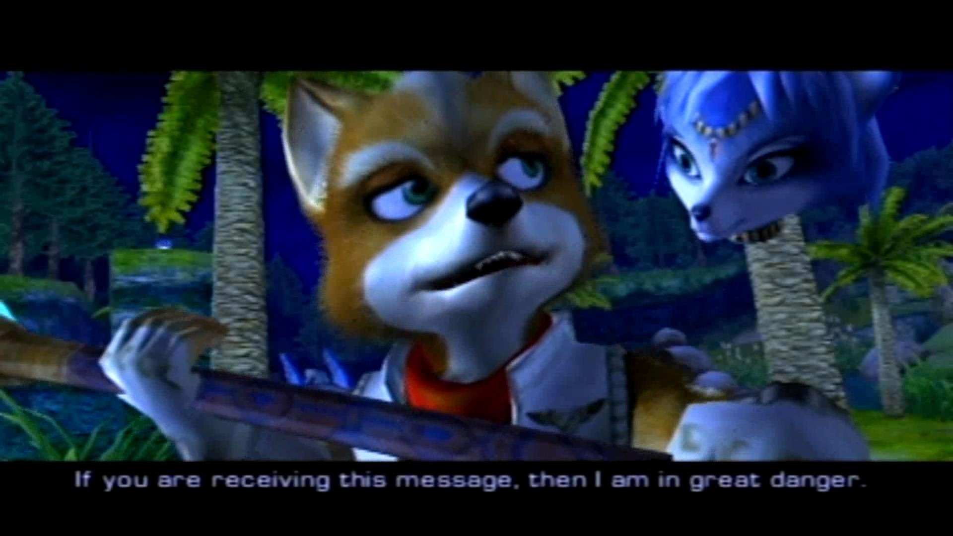 STAR FOX ADVENTURES (gc) trailer intro and full prologue gameplay – YouTube