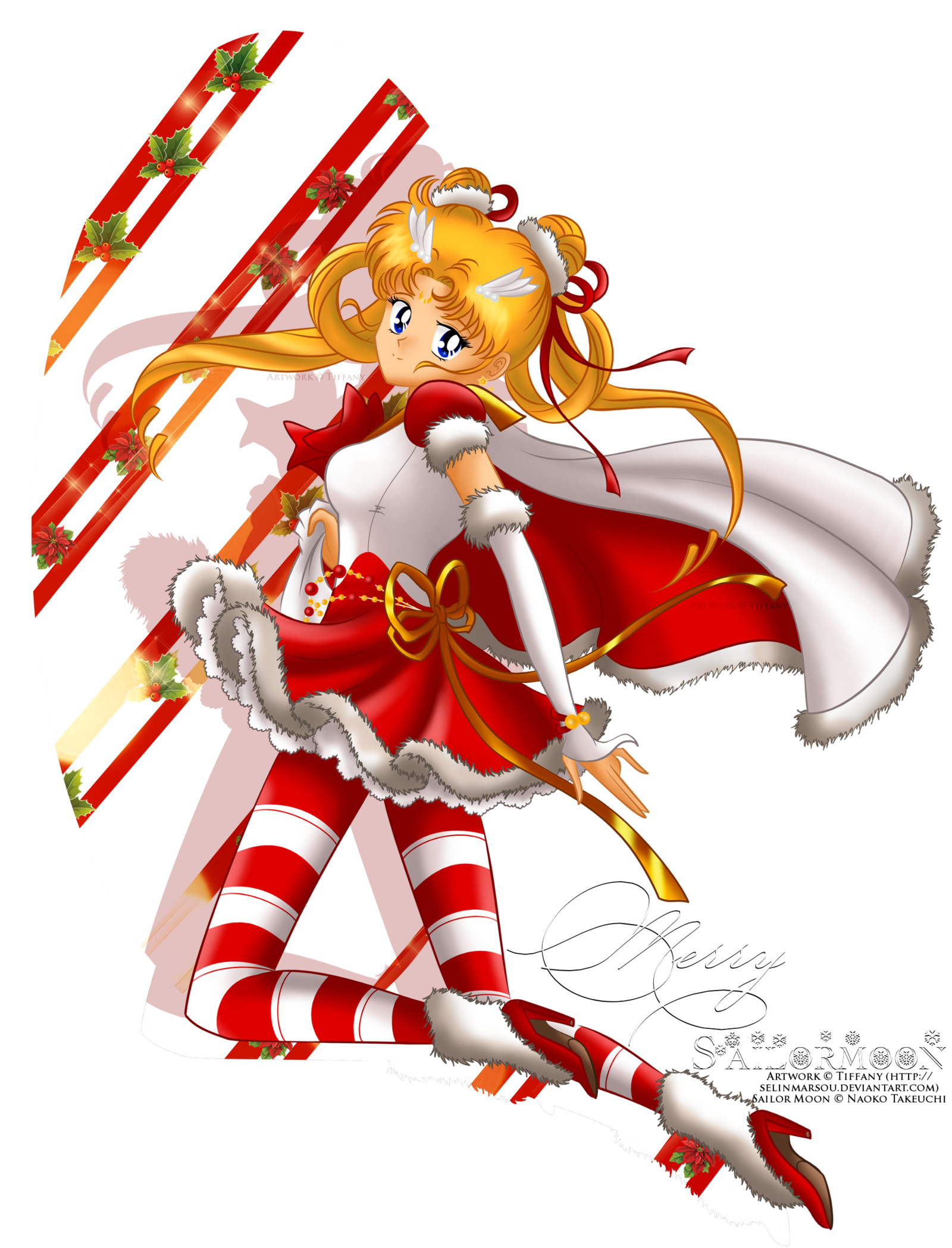 … Sailor Moon – Christmas Edition by selinmarsou