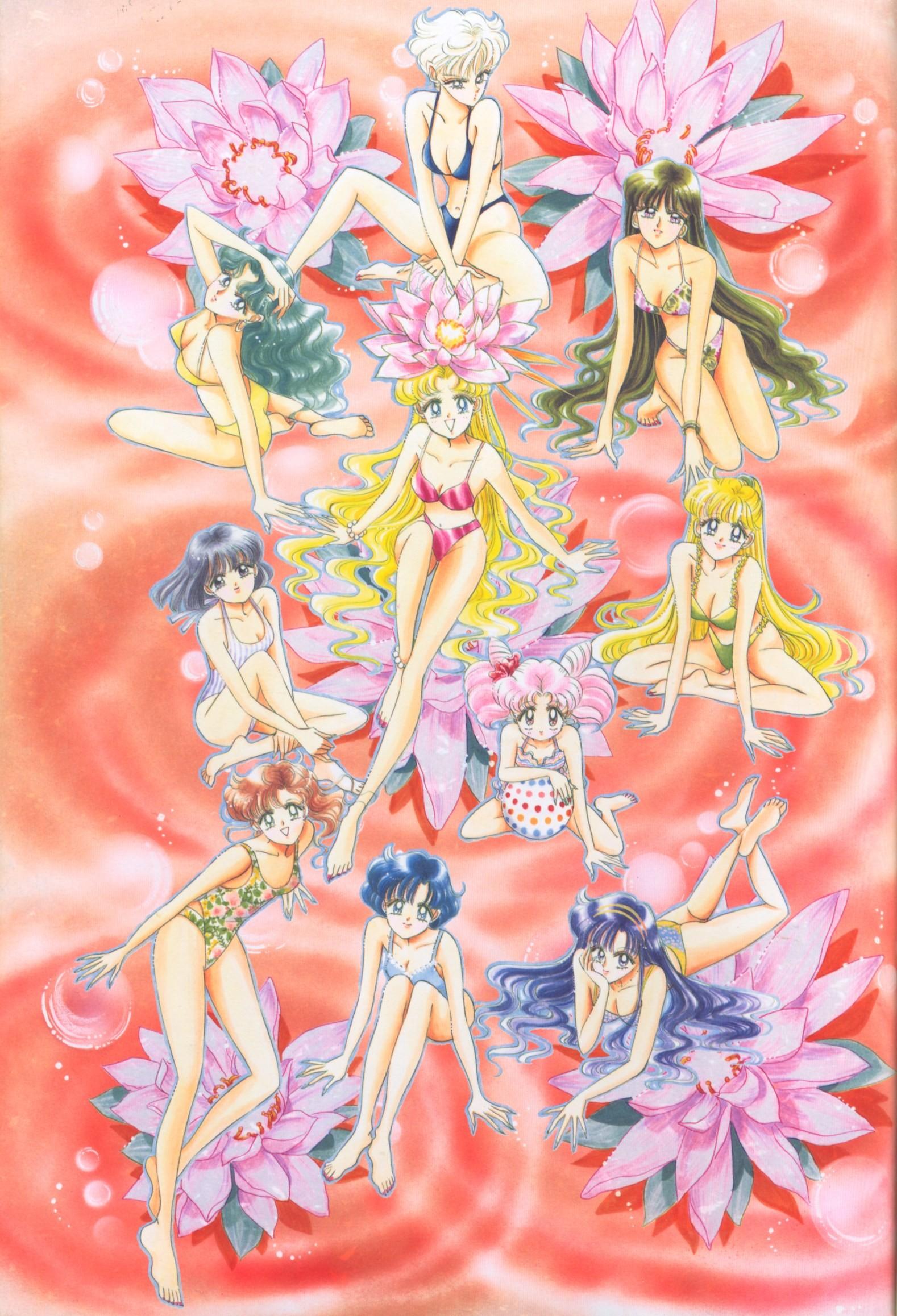Bishoujo Senshi Sailor Moon Original Picture Collection Vol. IV   Manga  Style!