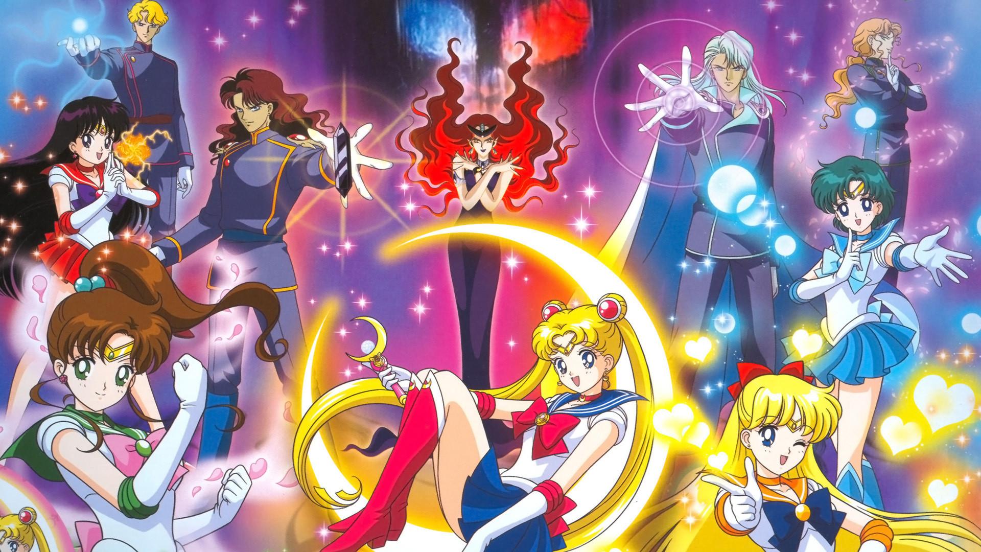 Sailor Moon Crystal HD Wallpaper 1920×1080