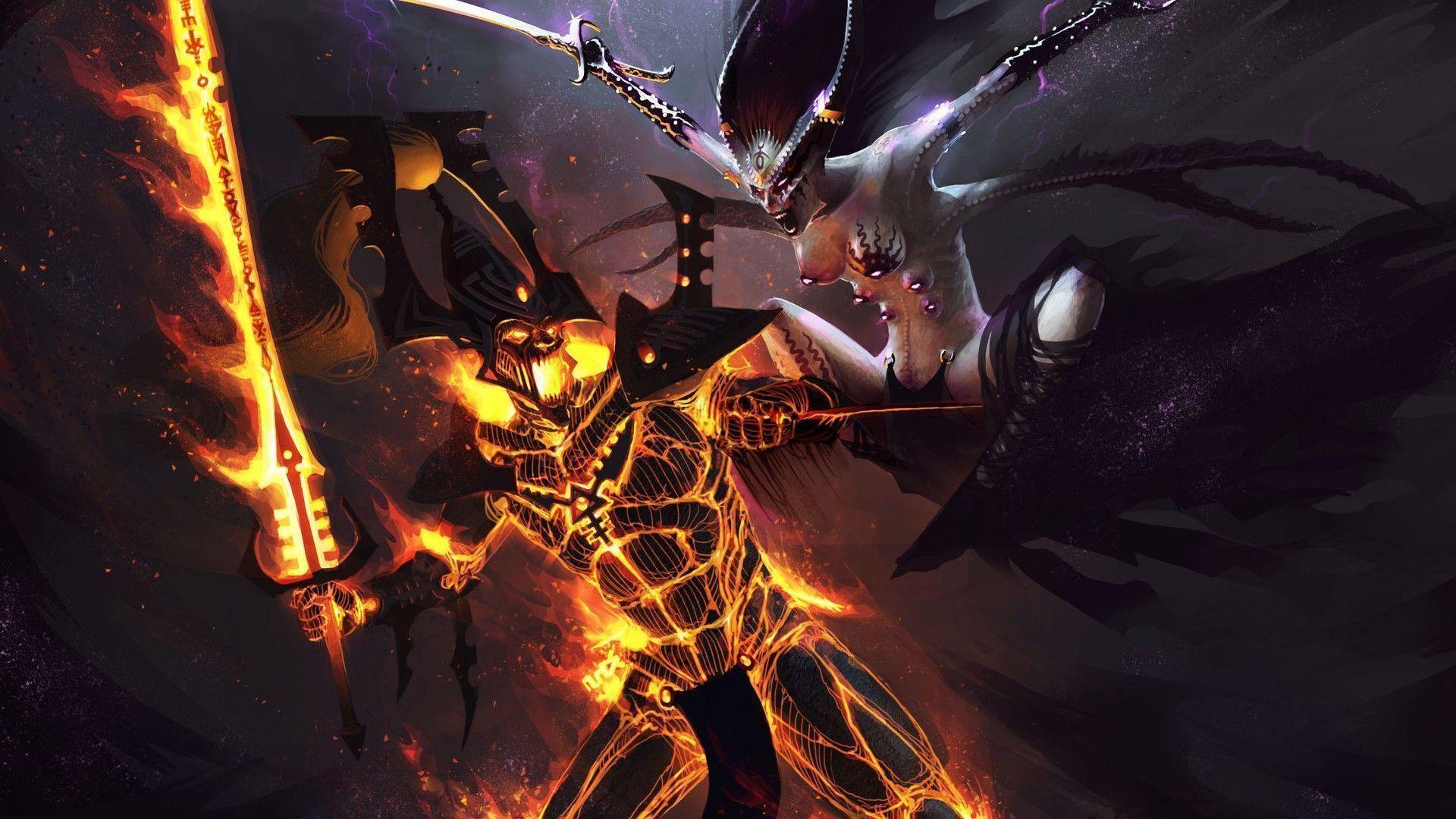 Warhammer 40K Eldar Desktop Background Wallpaper HD – dlwallhd.