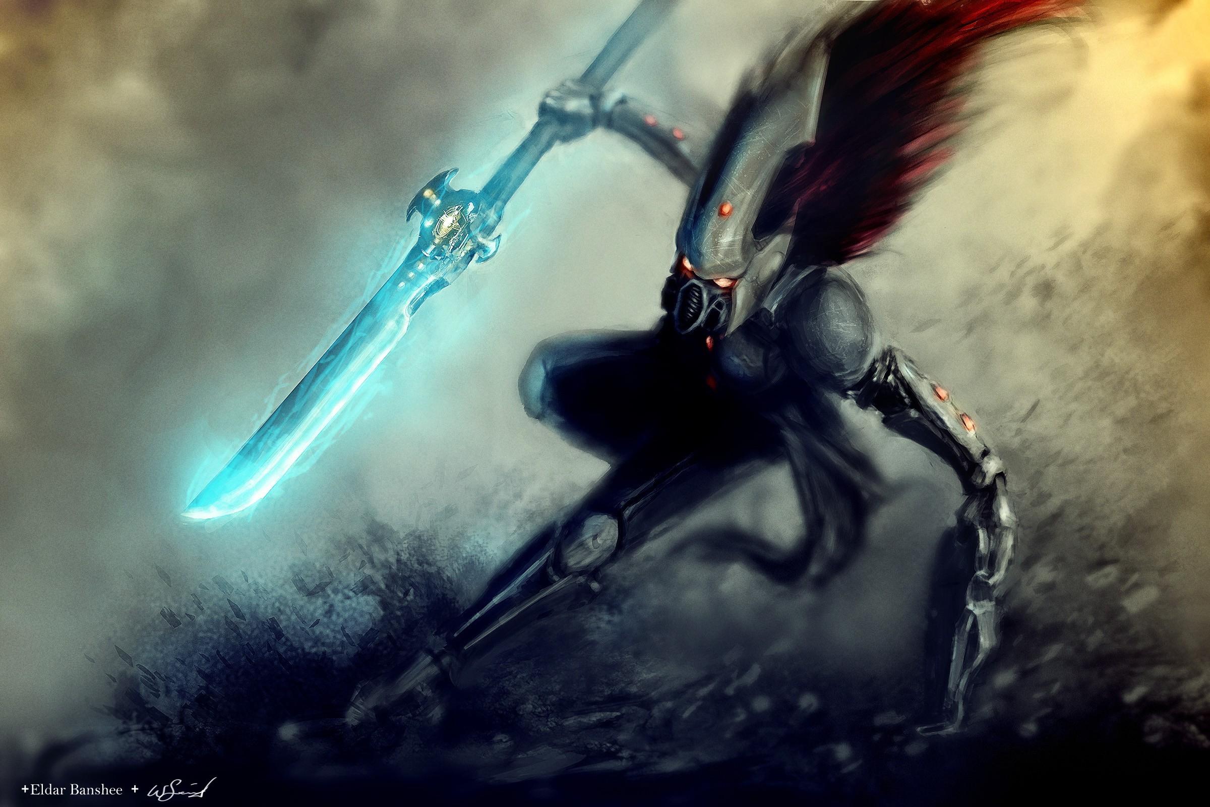 General Eldar Warhammer 40,000 Howling Banshee