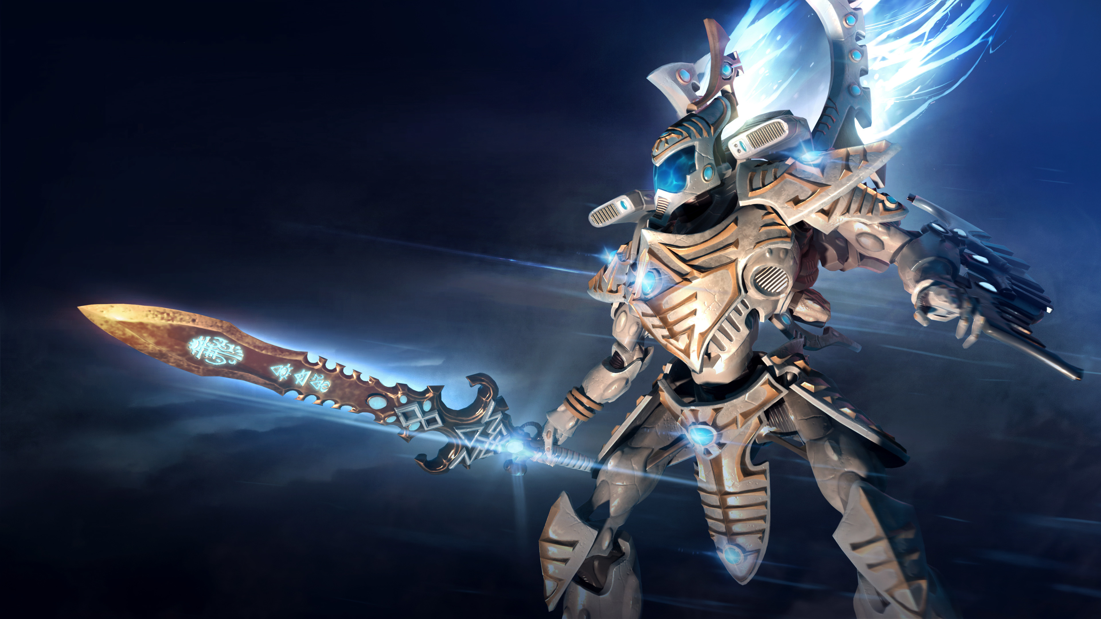 Warhammer 40K, Dawn of War III, Ghost Seer, Farseer Taldeer, 4K