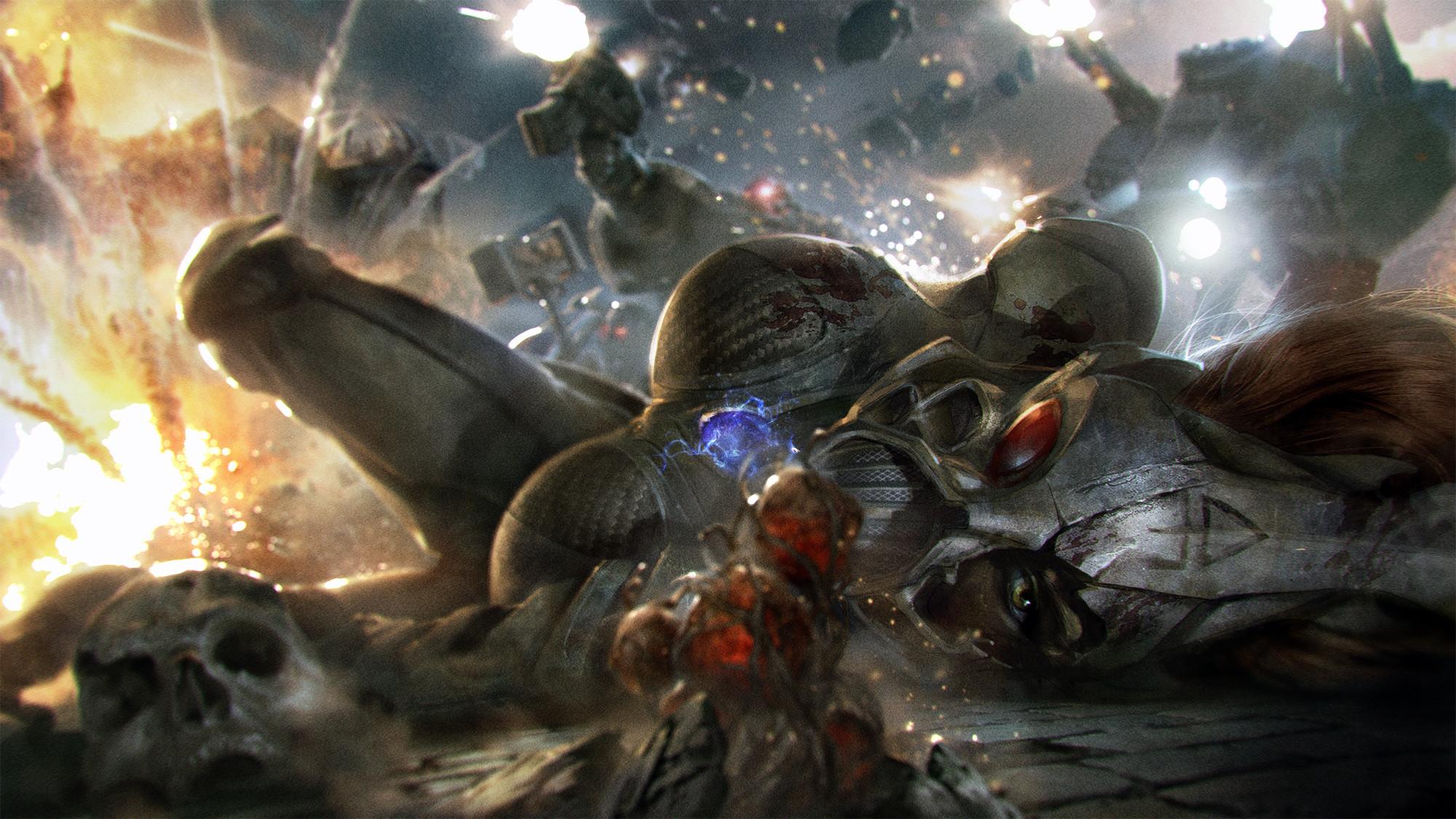 Howling Banshee by WIDESHOT-DESIGN.deviantart.com on @DeviantArt · Warhammer  40kCharacter …