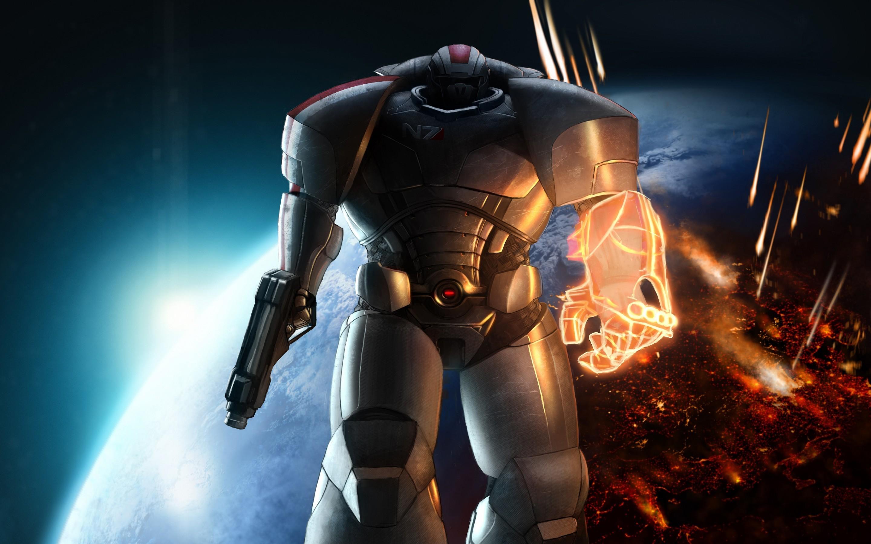 Games / Mass Effect Wallpaper