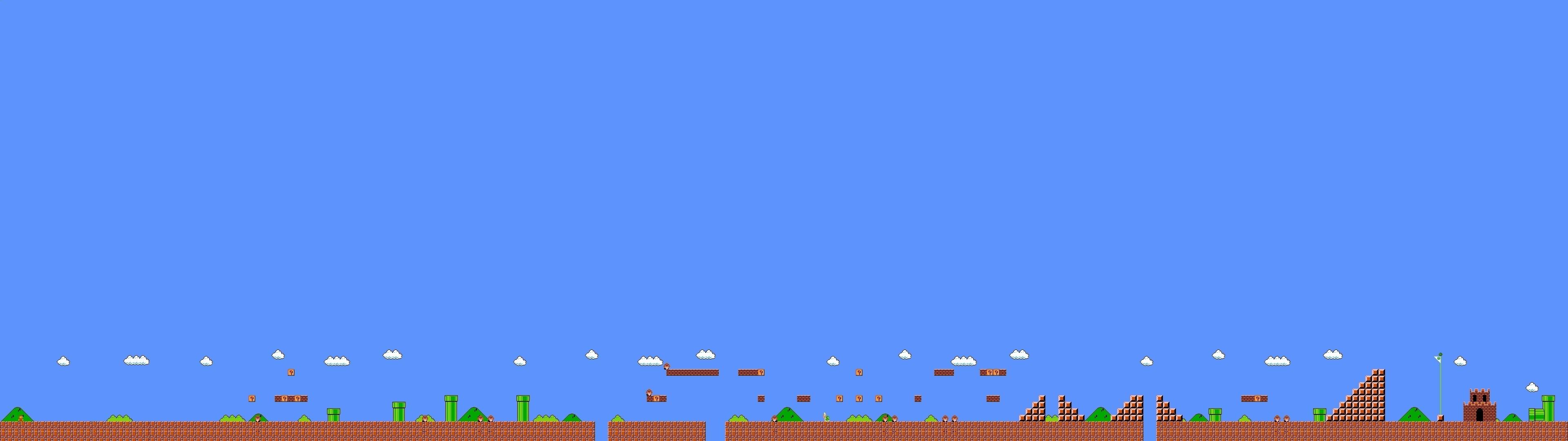 screen multi multiple videogame game jeu video mario bross wallpaper .
