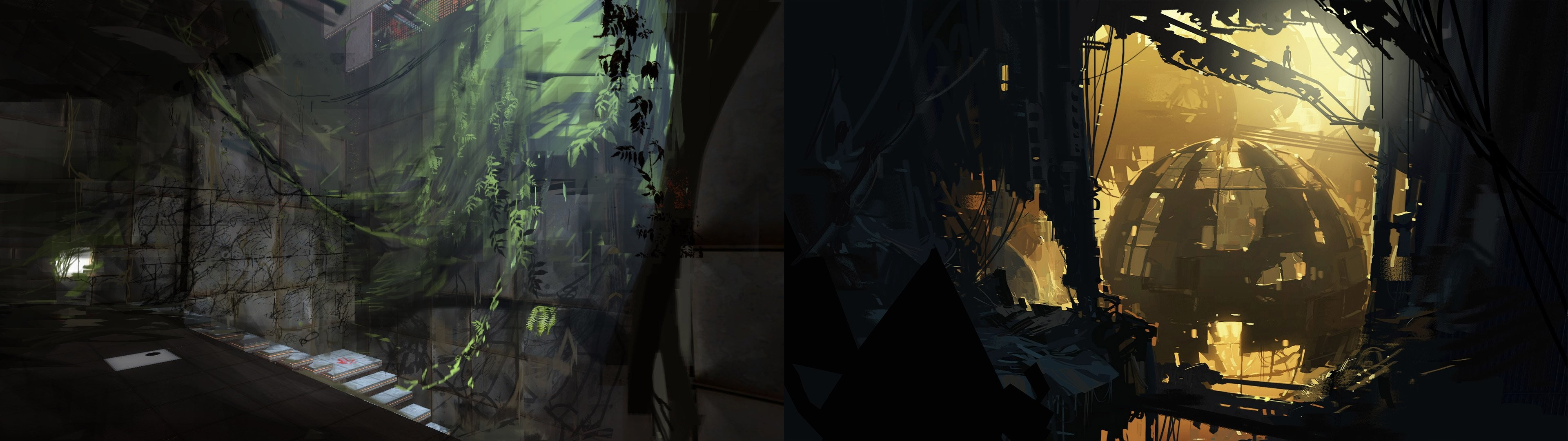 Dual monitor screen portal game wallpaper | | 514364 | WallpaperUP