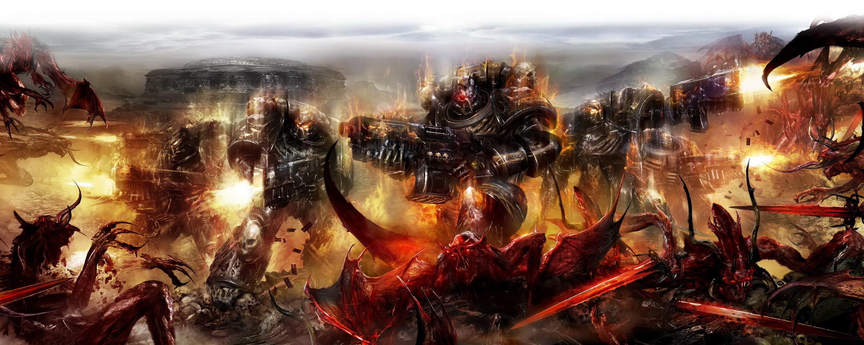 Multi Monitor – Video Game Warhammer Wallpaper