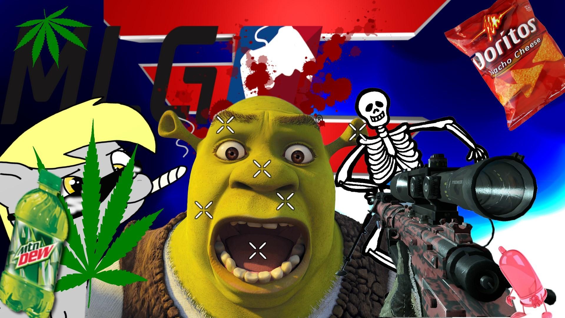 mlg wallpaper meme