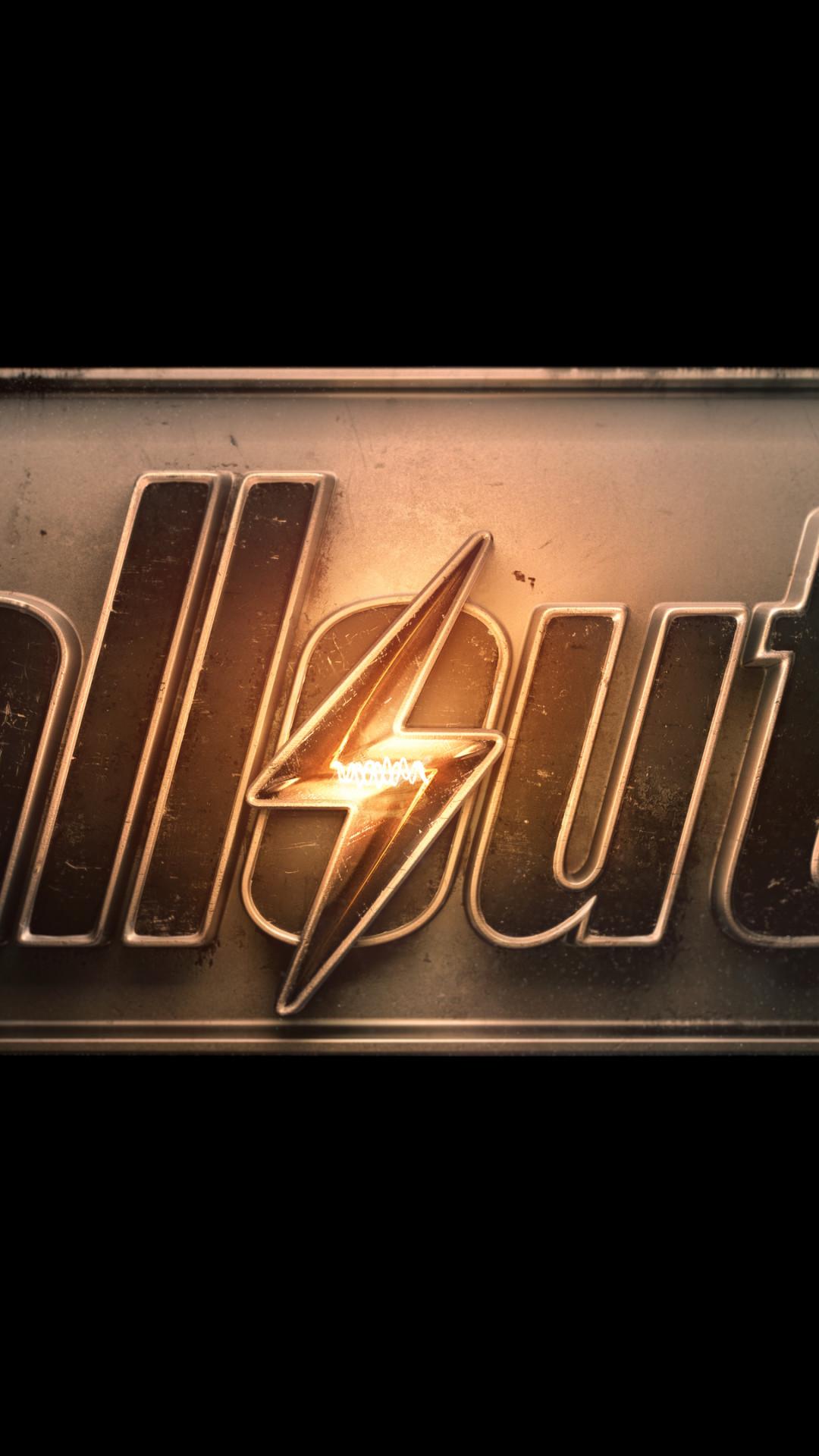 Fallout 4 Logo Wallpaper in 4k iPhone 6 Plus – Wallpaper – HD .