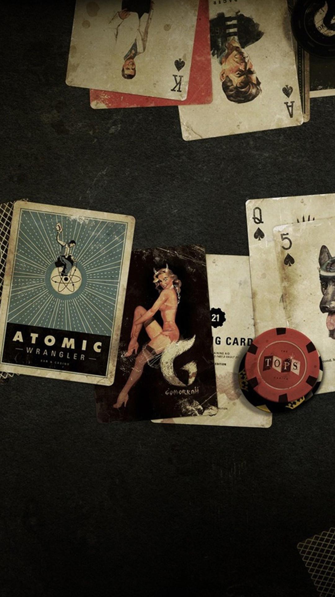 iPhone 6 plus Fallout new vegas poker Games wallpaper