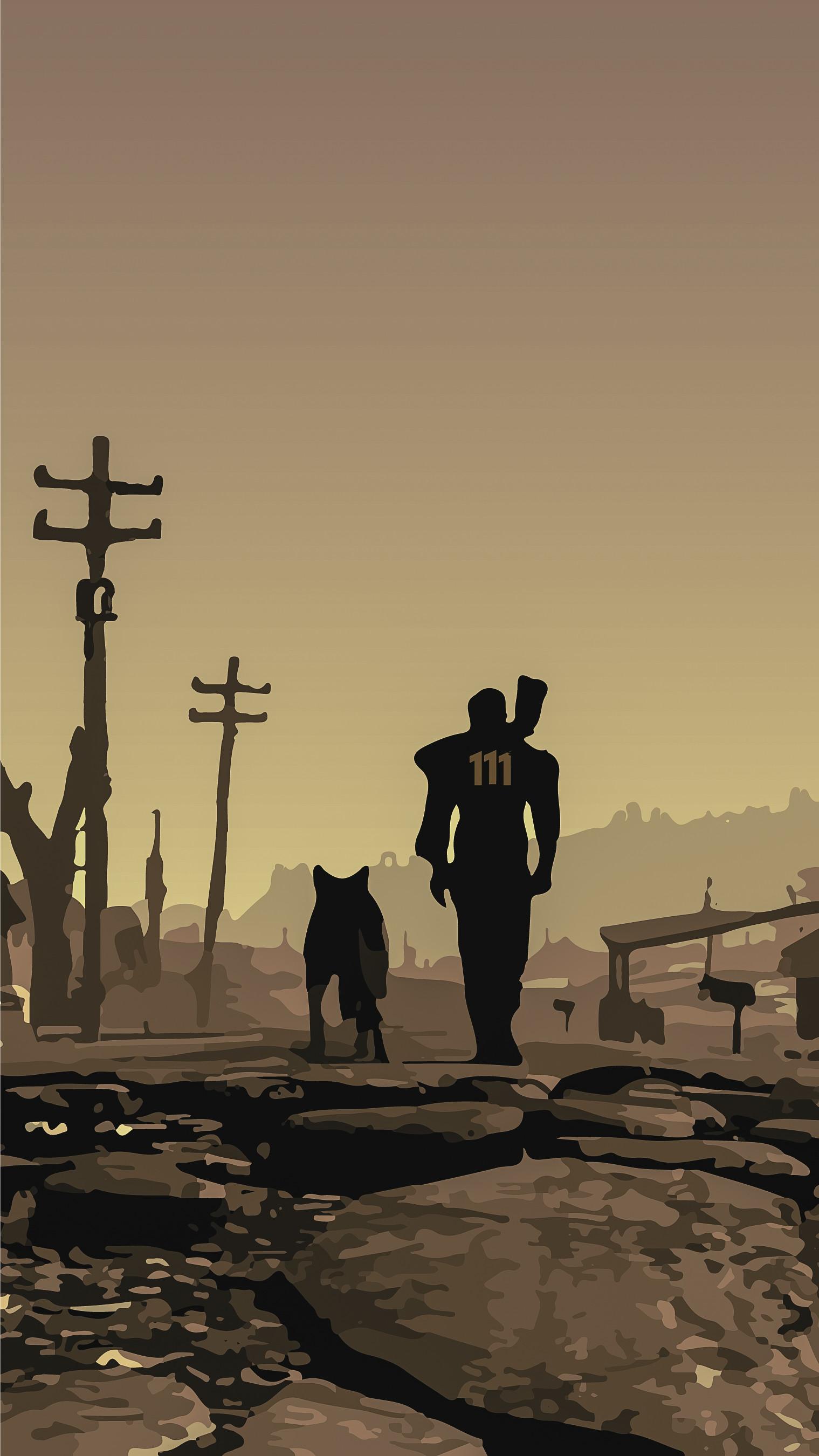 Fallout Material wallpaper