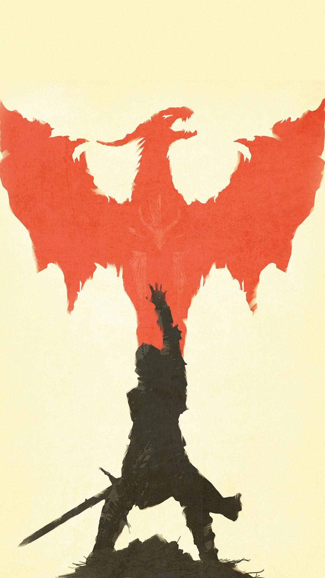 Dragon Age Illustration iPhone 6+ HD Wallpaper