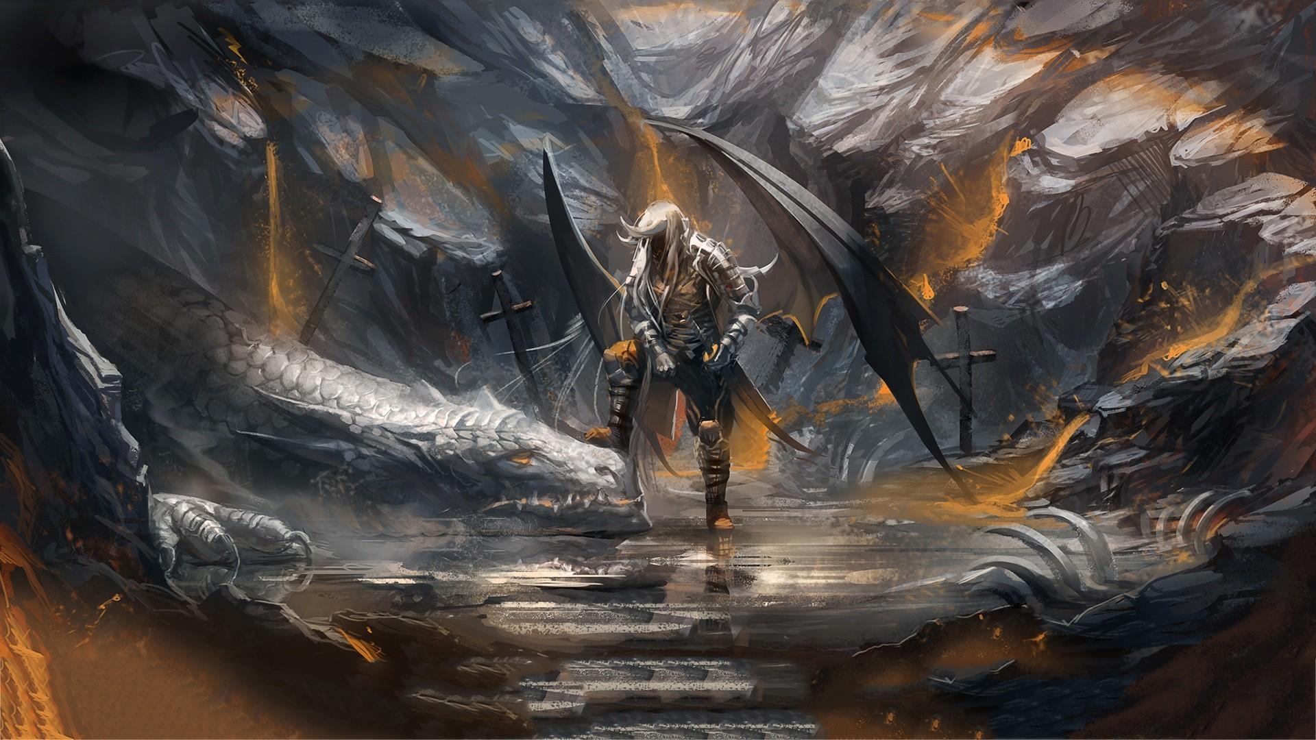 Artwork Dark Elves Dragons Drow Fantasy Art Wings …
