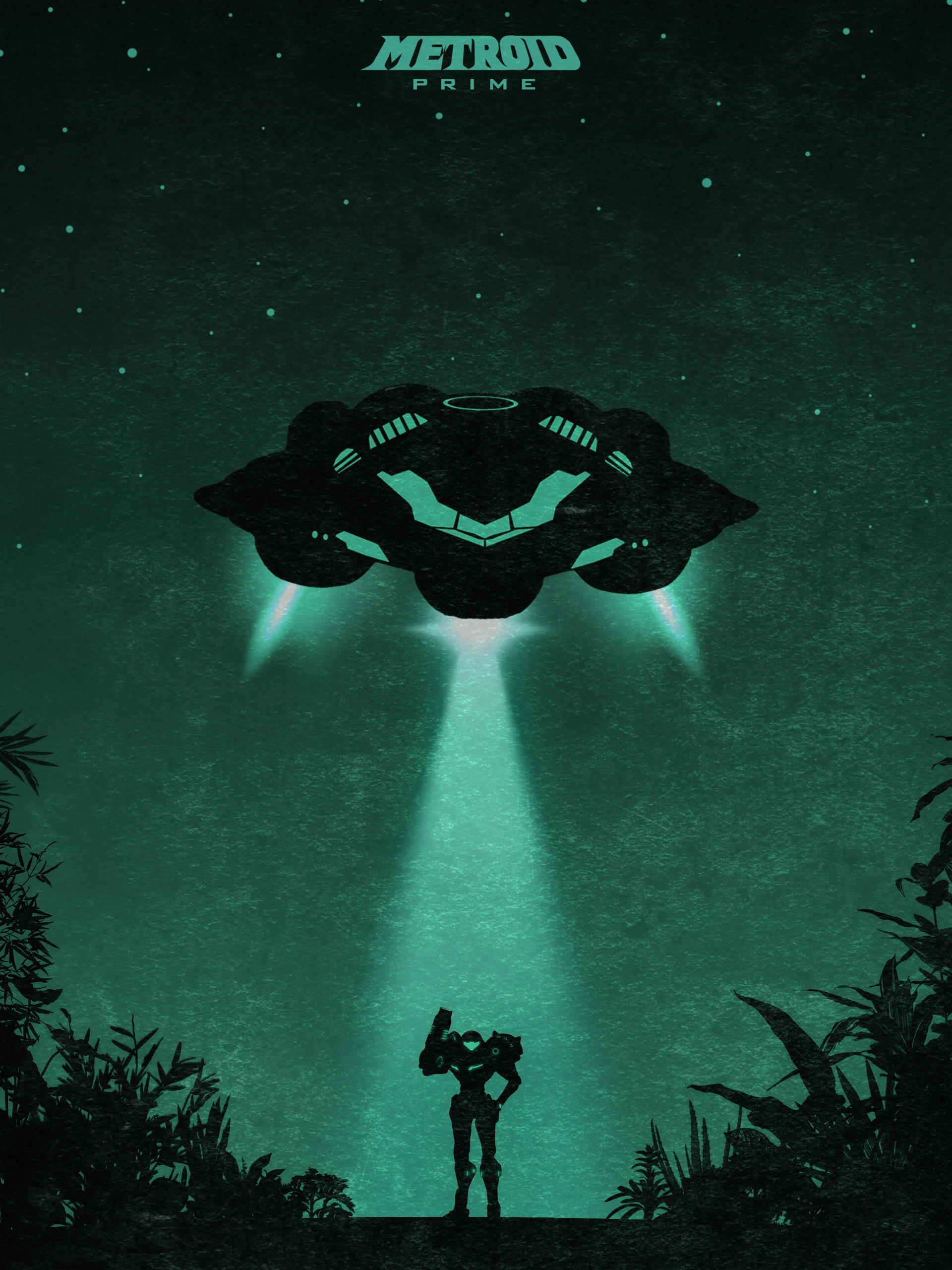 Fan-Created Metroid Prime Poster …