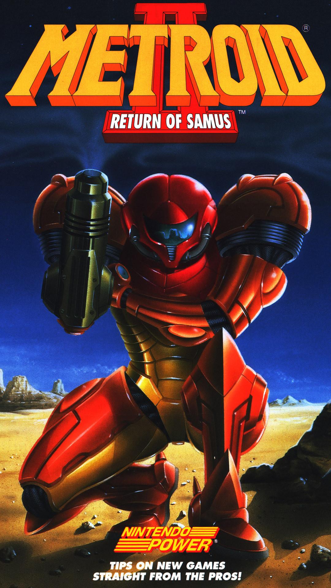 … Metroid Game mobile wallpaper