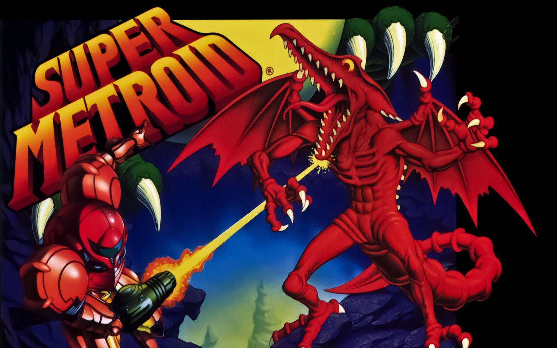 Download <b>Super Metroid wallpapers</b> to your cell phone –