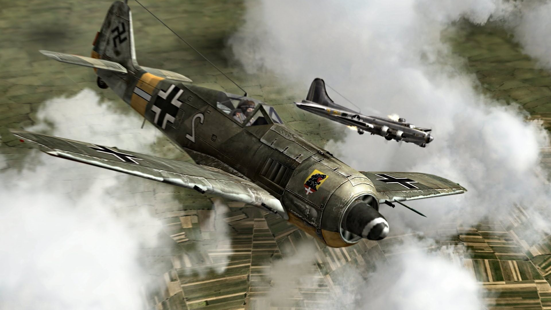 World War II, Fw 190, Focke Wulf, Luftwaffe, Germany, Military, Military  Aircraft, Airplane Wallpapers HD / Desktop and Mobile Backgrounds