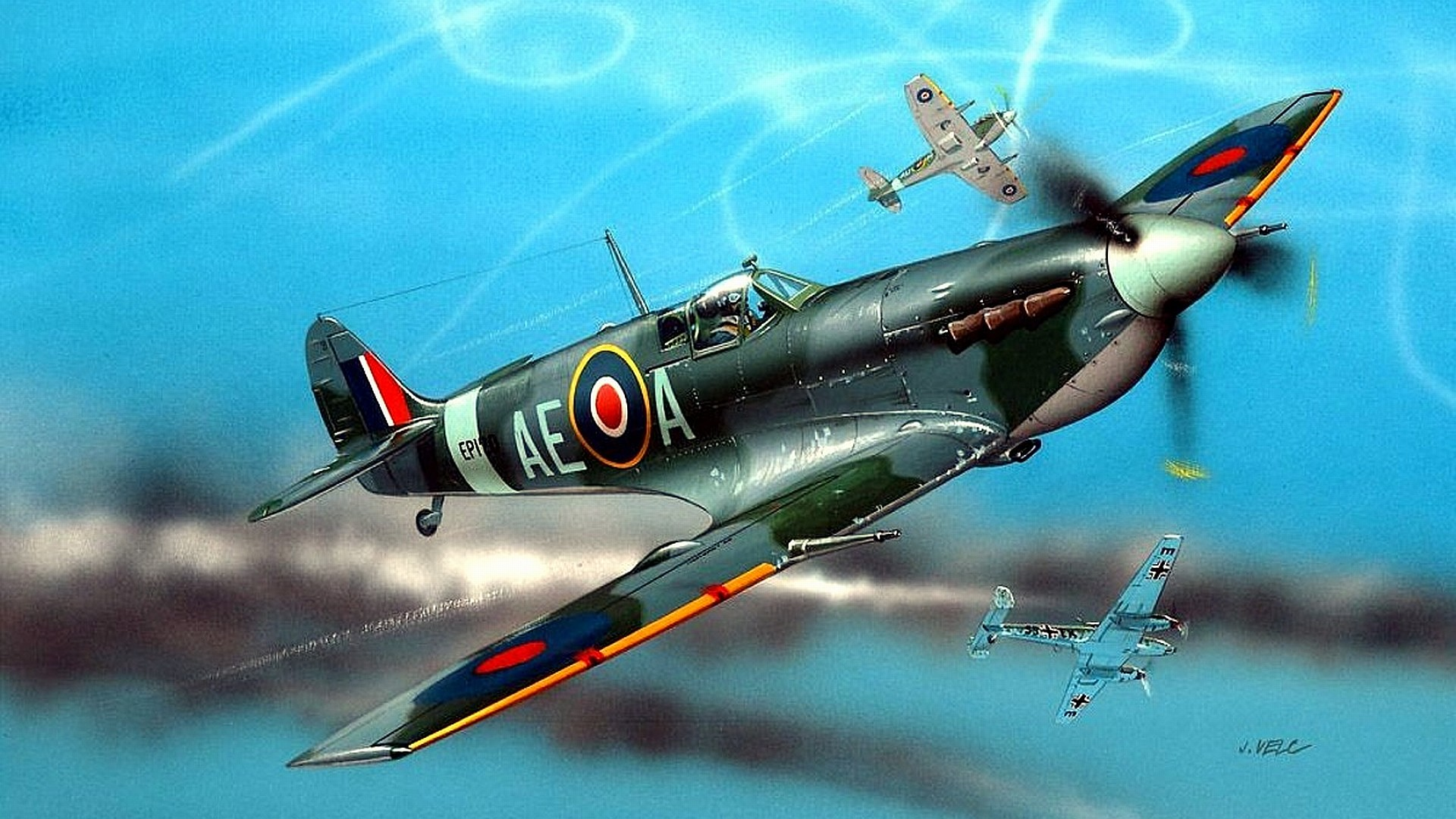 Spitfire Fighter   WWII   Pinterest