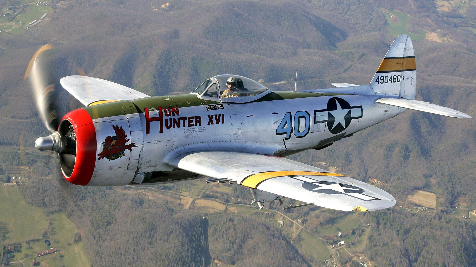 p 47 thunderbolt fighter