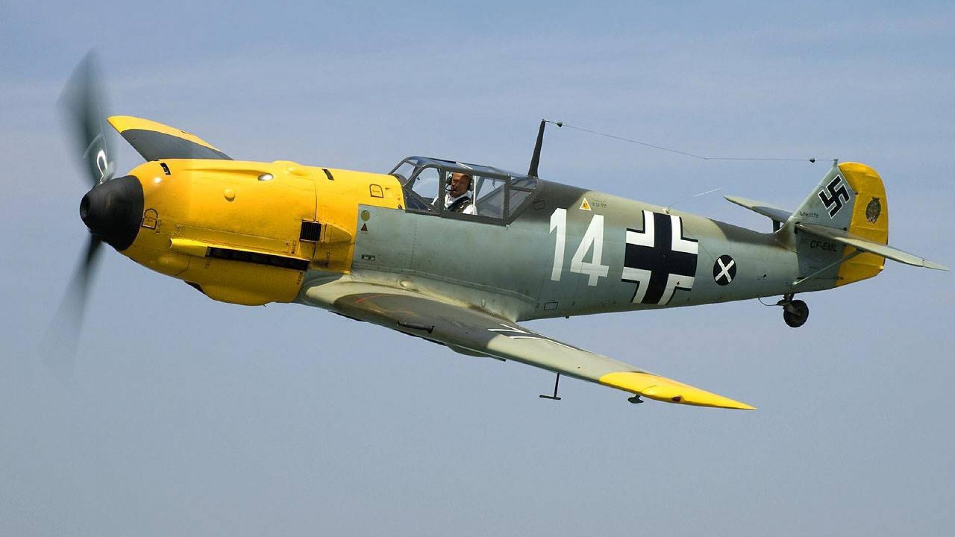 aircraft airplanes fighter messerschmitt world war ii luftwaffe .