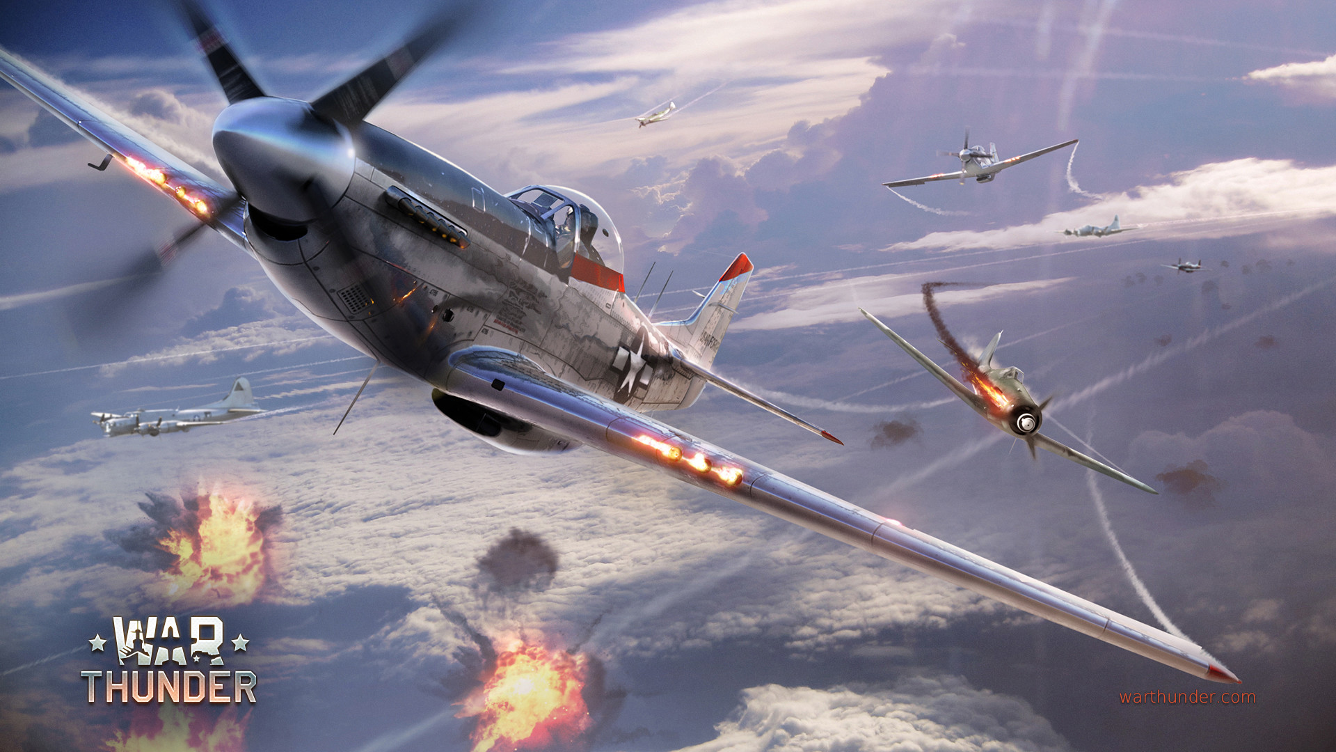 The best fighters of World War 2
