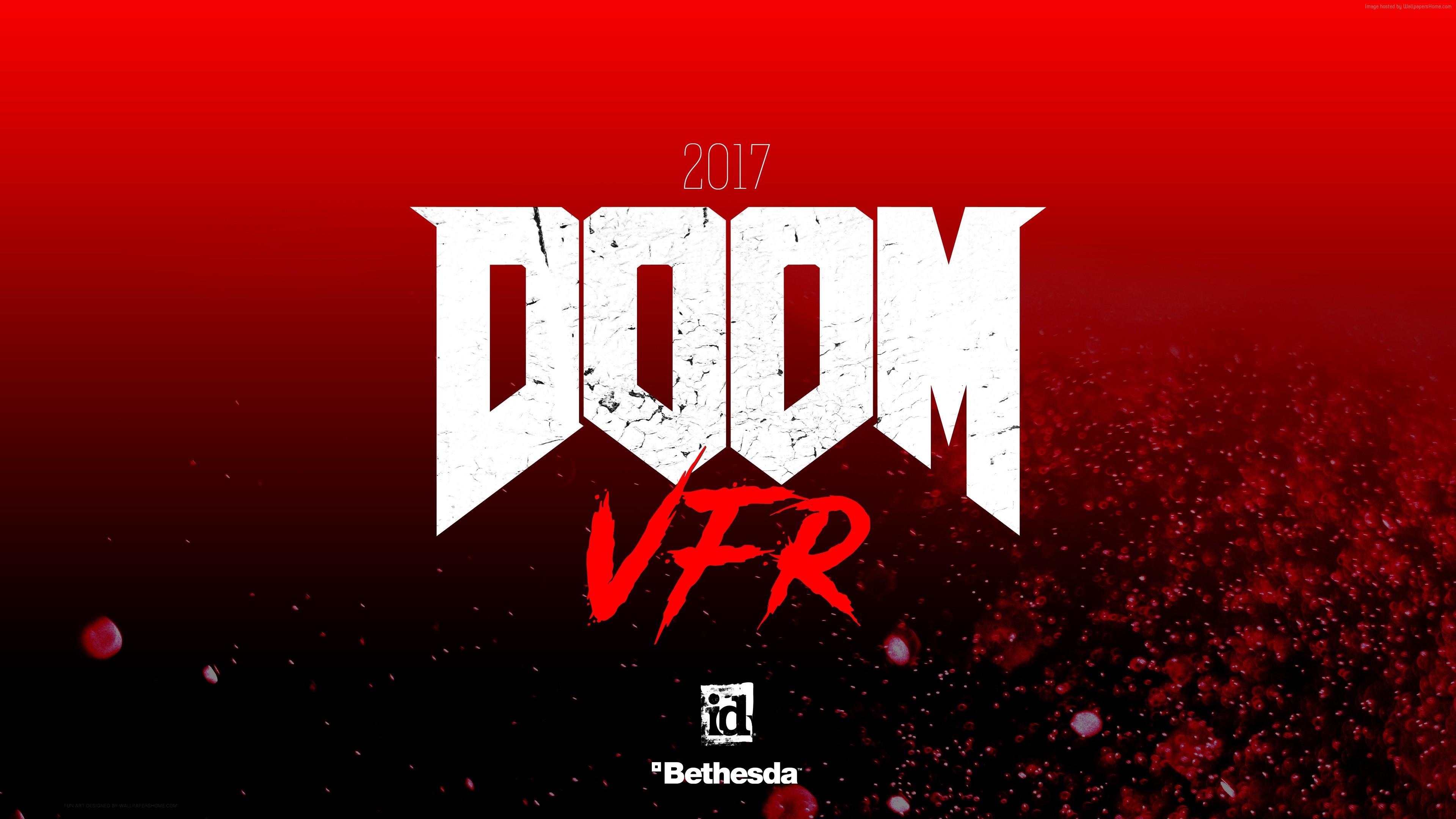 Doom VFR, 4k, 2017, VR, E3 2017 (horizontal) …