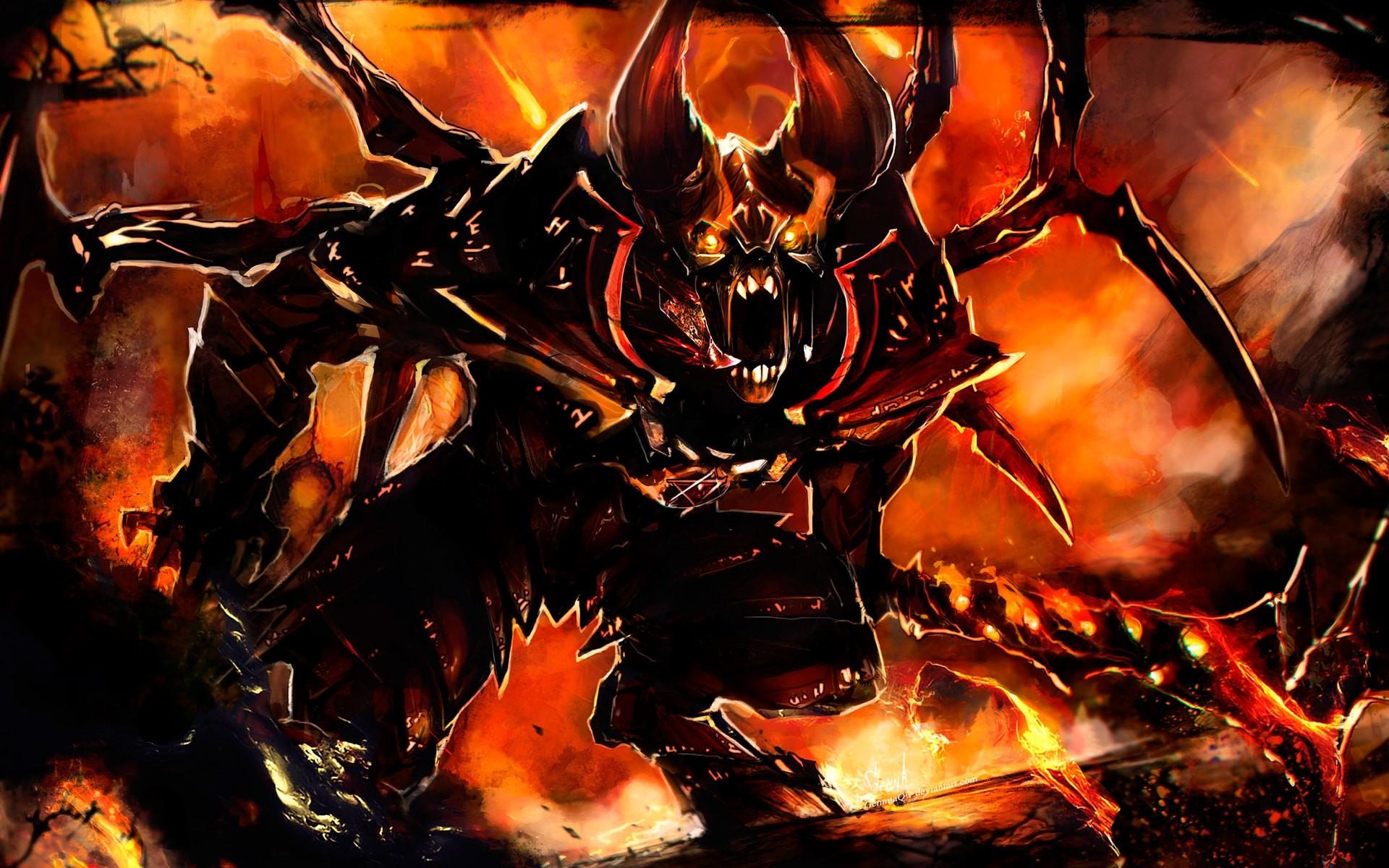 Lovely Dota2 Doom Hd Desktop Wallpapers